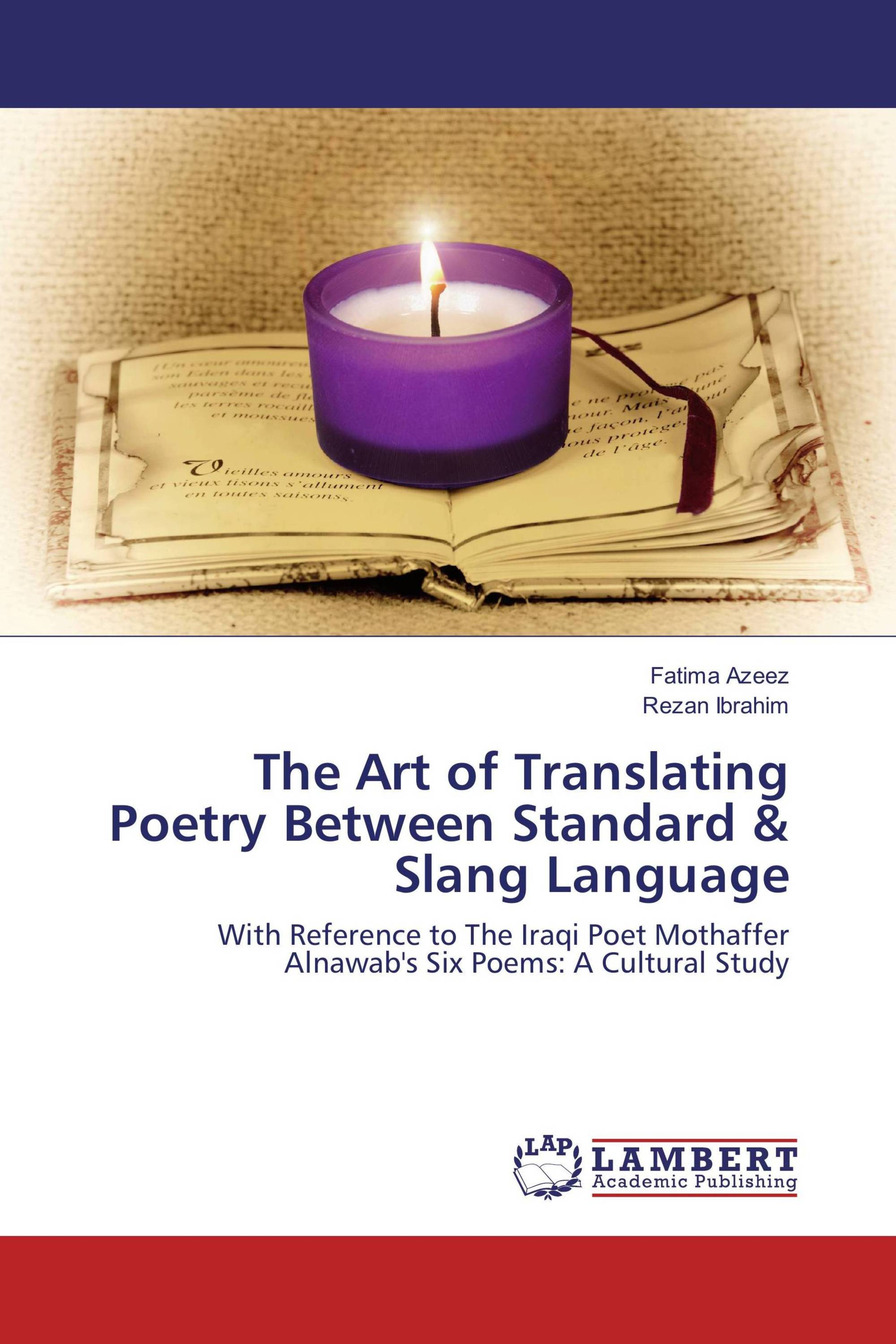 It's time to publish your thesis. Publish now · Back · The Art of Translating  Poetry ...