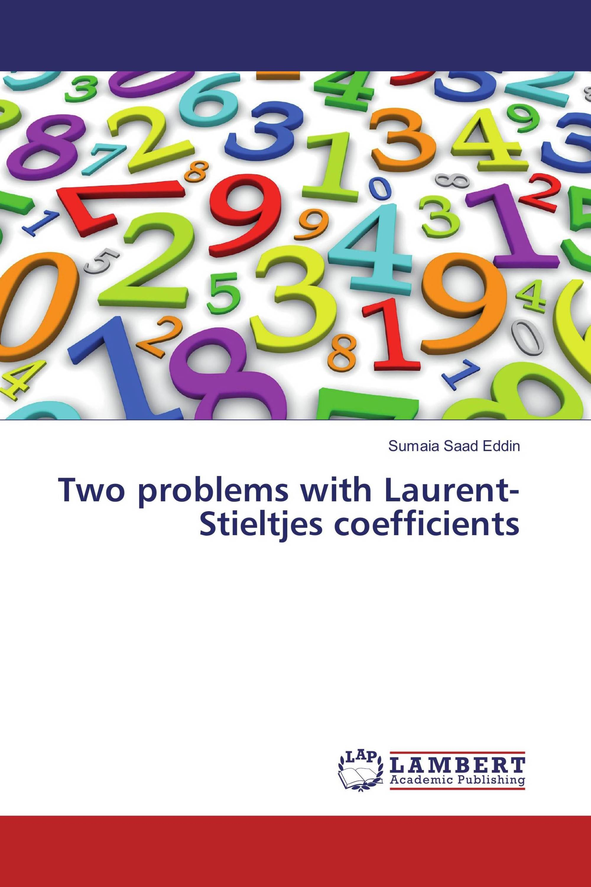 Two problems with Laurent-Stieltjes coefficients
