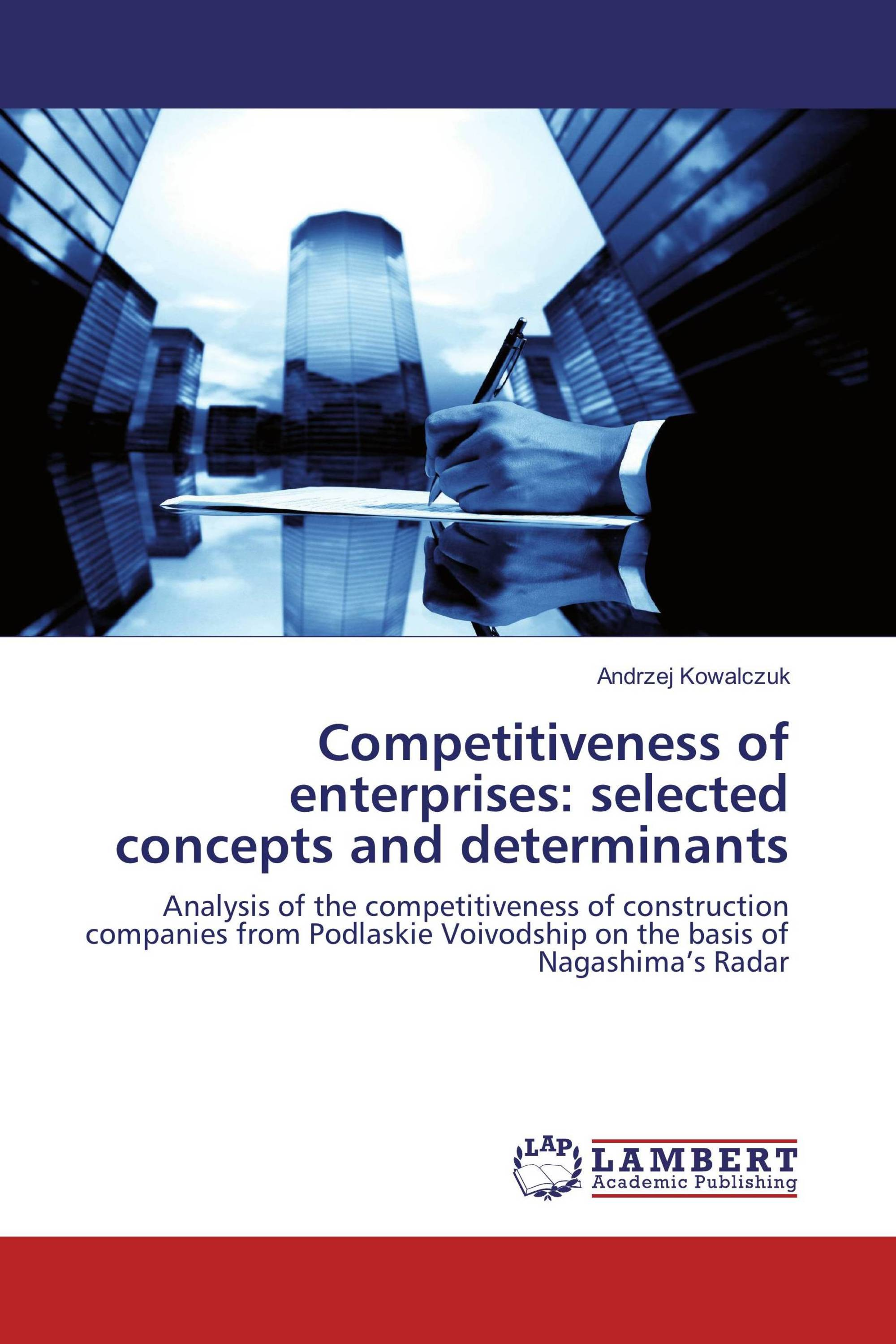 Analysis of enterprise competitiveness. Basic concepts