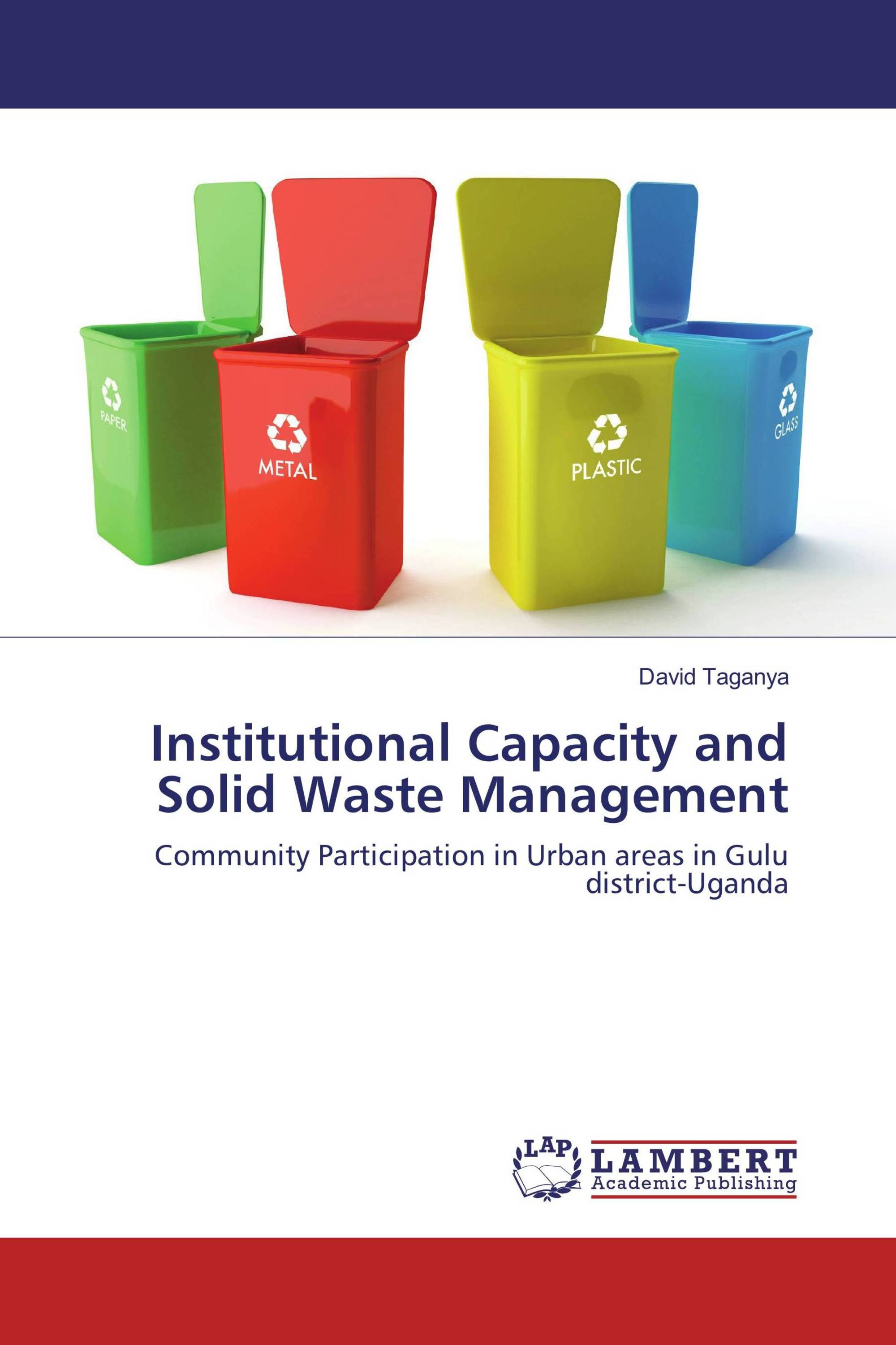 community participation n solid waste management Waste management and water supply projects: in community-based solid waste management study in the field of community participation in waste management.