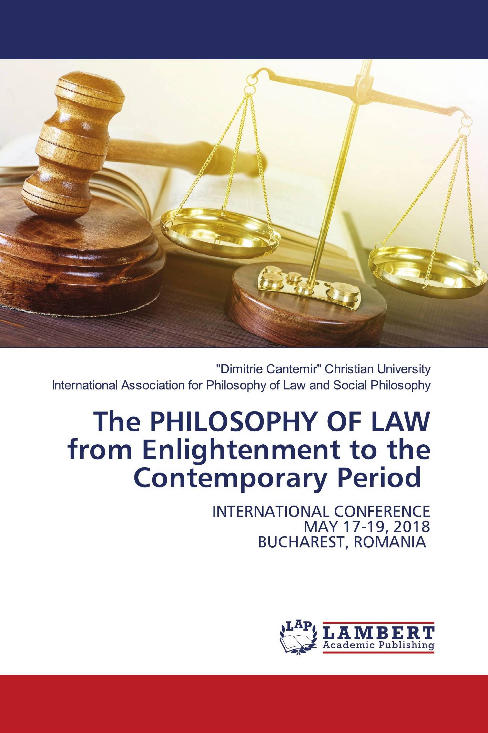 The PHILOSOPHY OF LAW from Enlightenment to the Contemporary Period