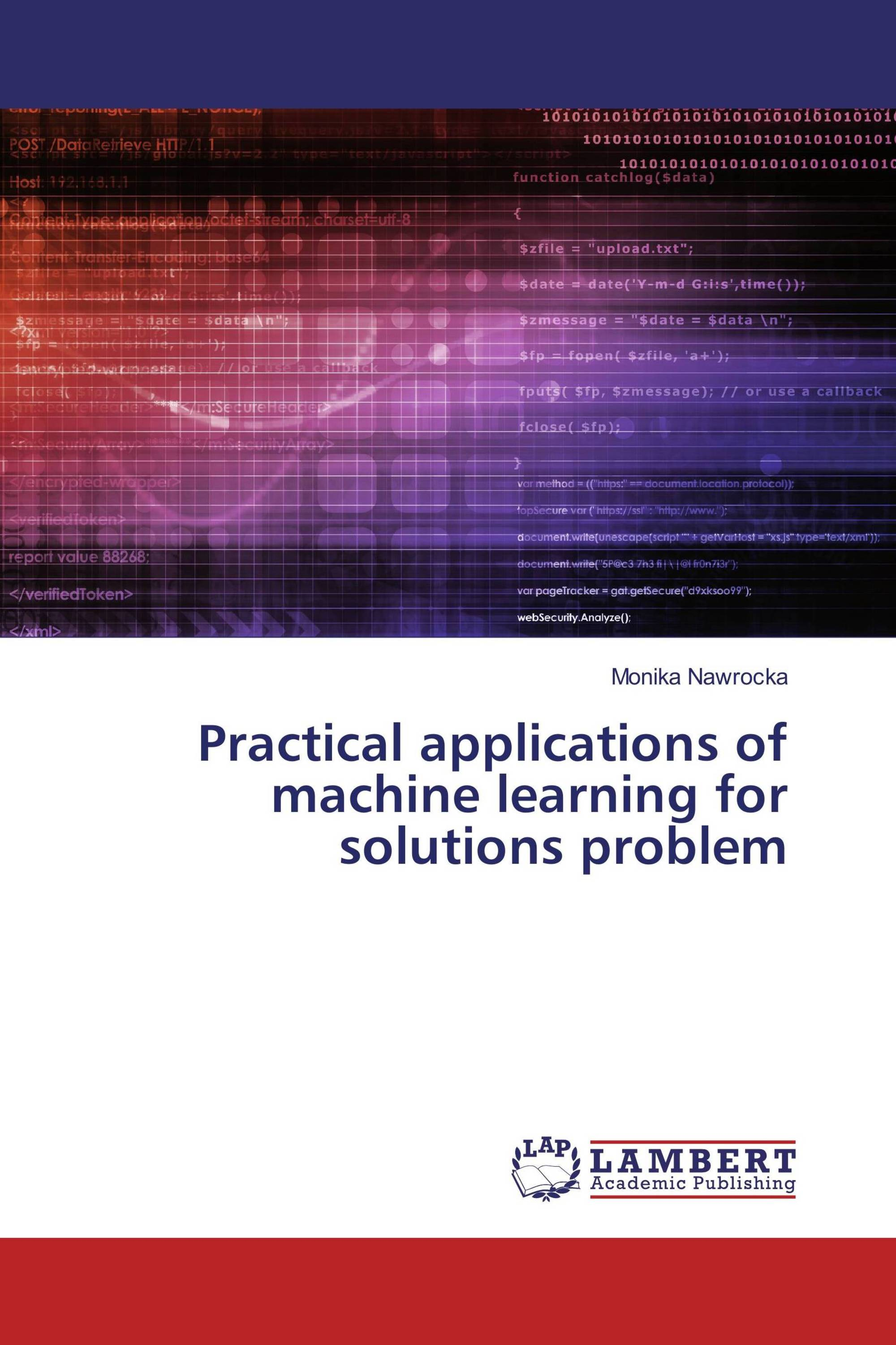 machine learning problems and solutions
