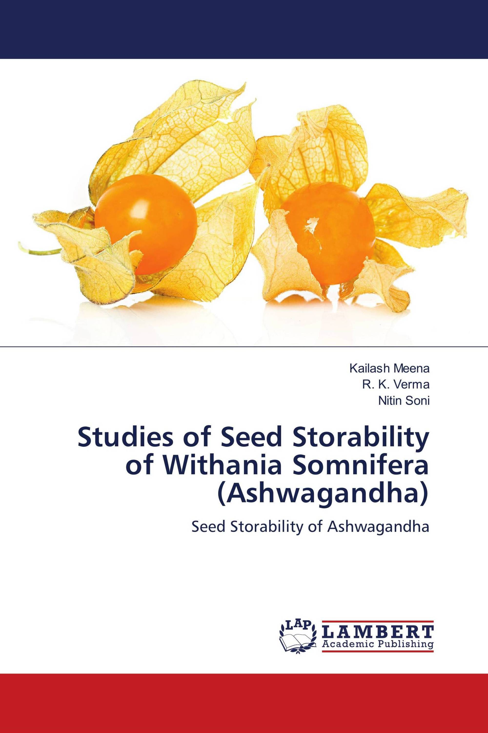 Studies of Seed Storability of Withania Somnifera
