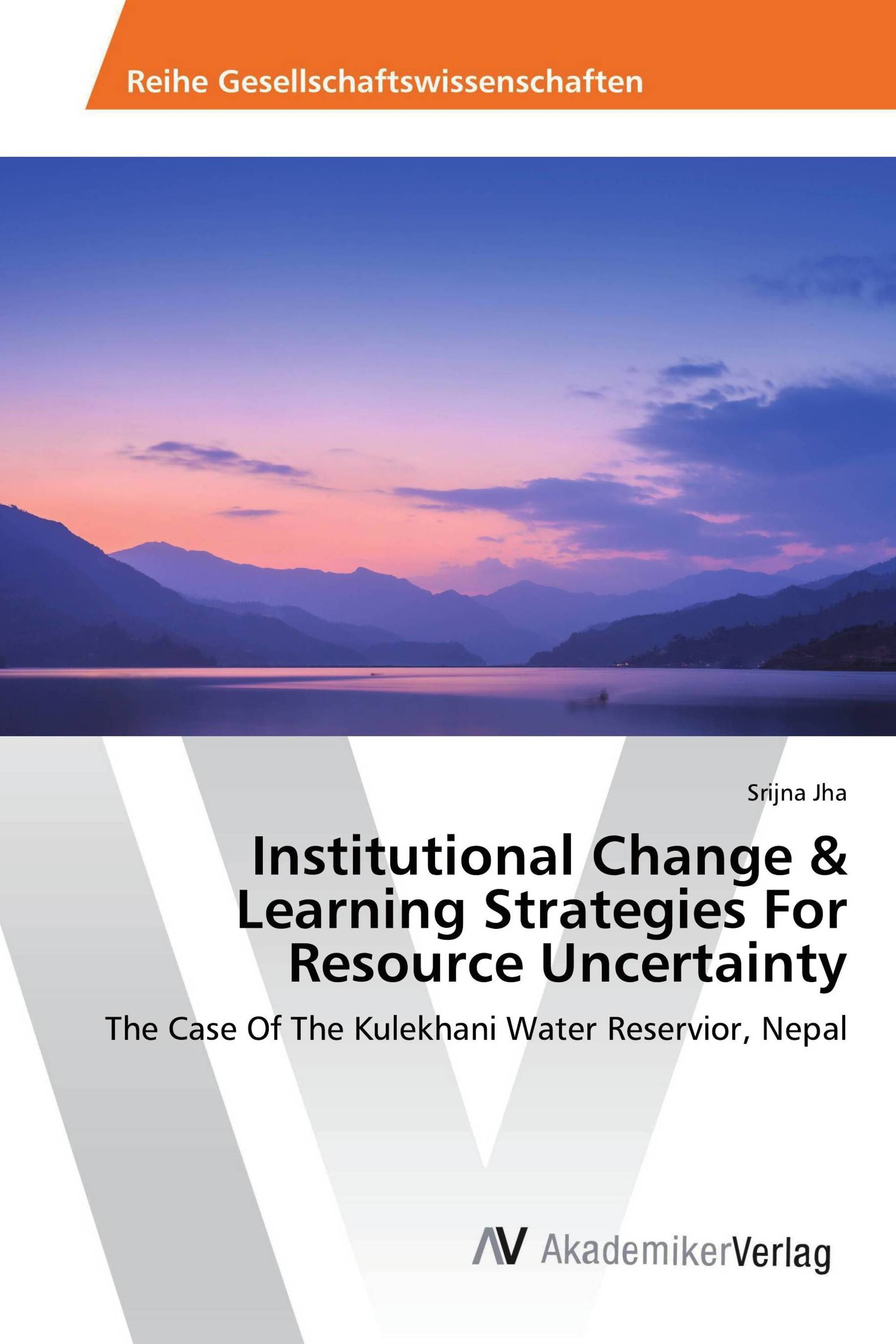 Institutional Change & Learning Strategies For Resource Uncertainty