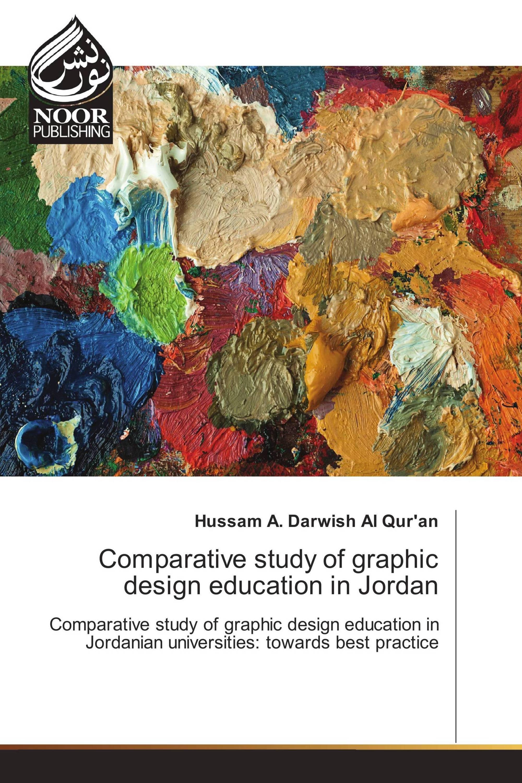 Comparative study of graphic design education in Jordan