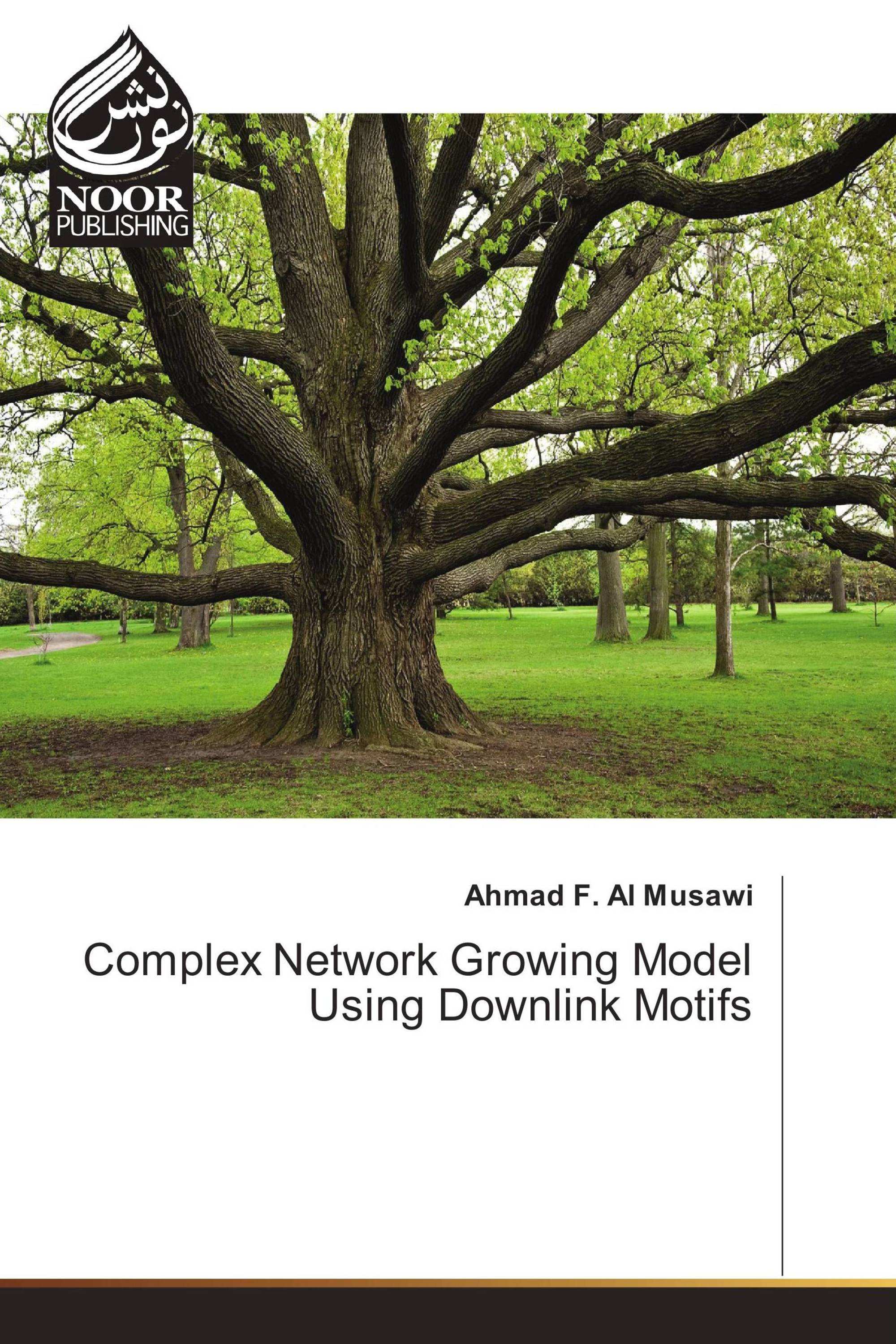 Complex Network Growing Model Using Downlink Motifs