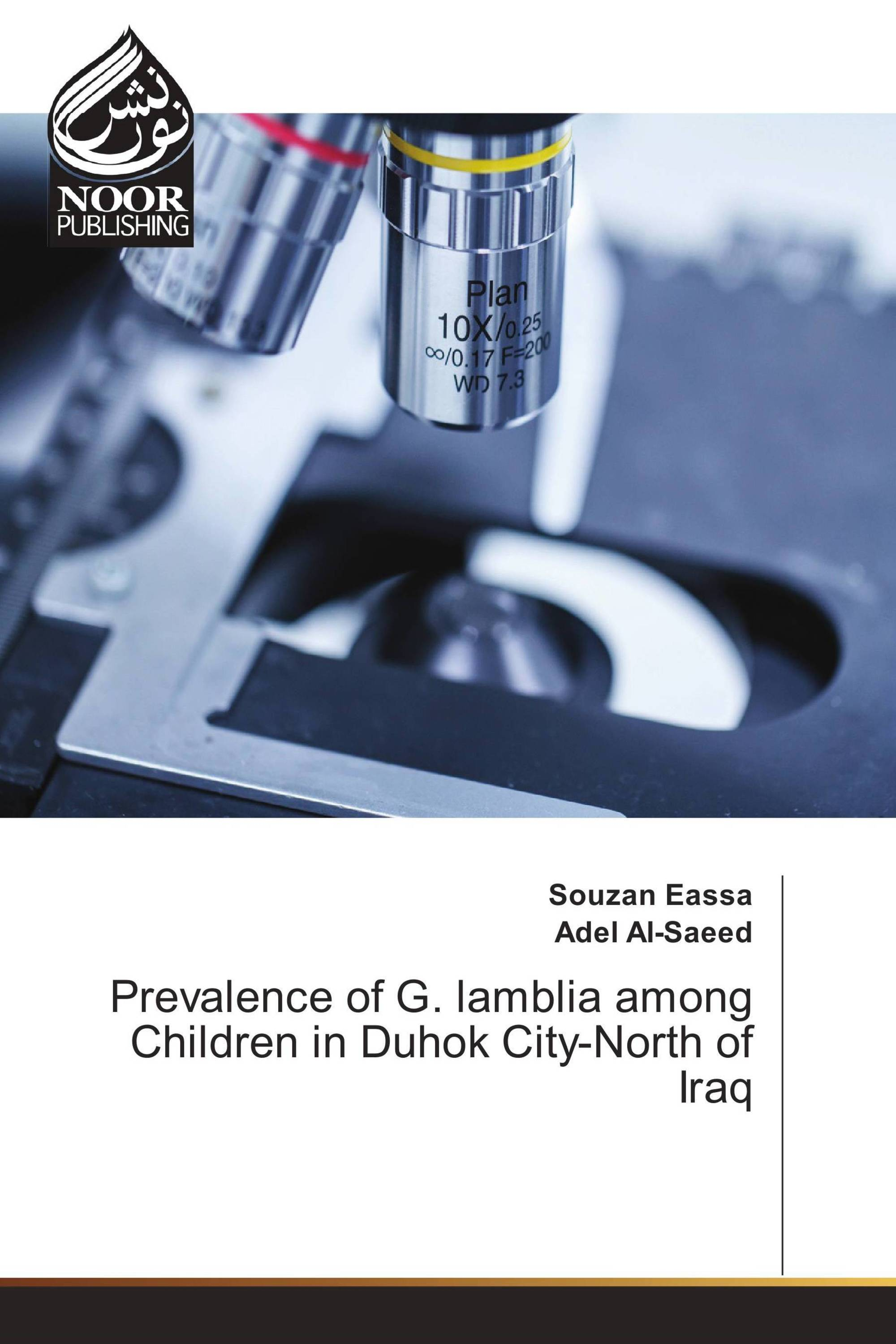 Prevalence of G. lamblia among Children in Duhok City-North of Iraq