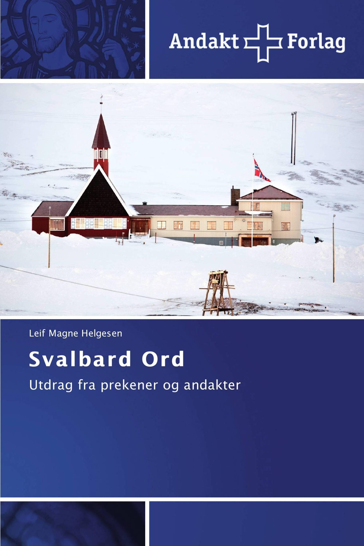 Svalbard Ord