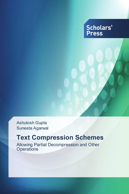 Text Compression Schemes