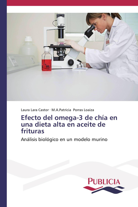 Efecto del omega-3 de chía en una dieta alta en aceite de frituras
