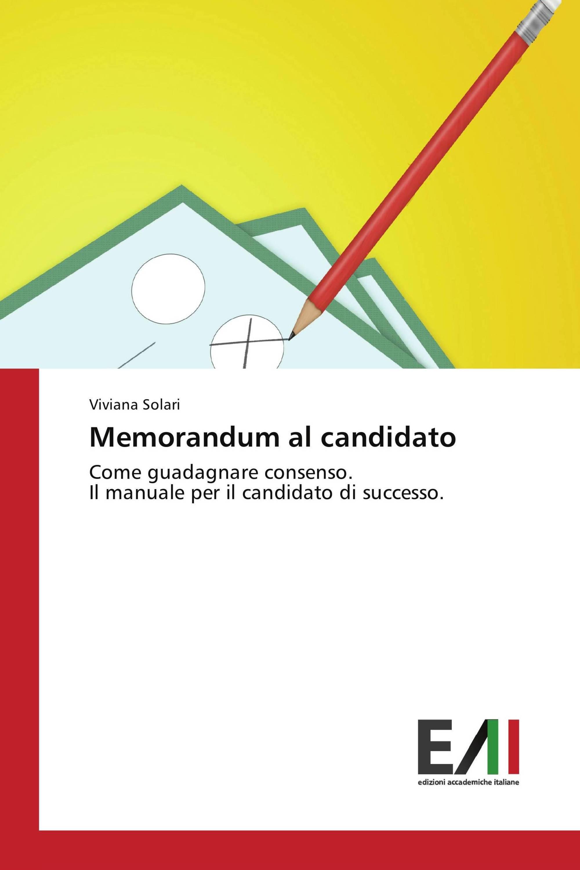 Memorandum al candidato