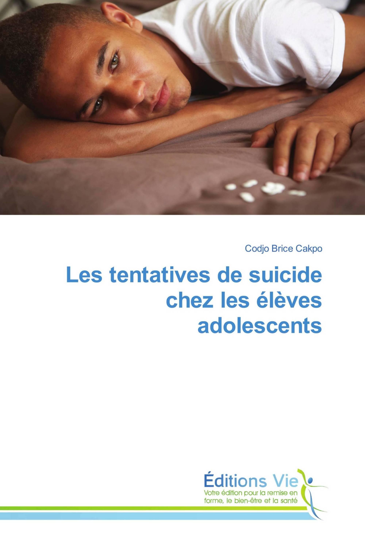 Les tentatives de suicide chez les élèves adolescents