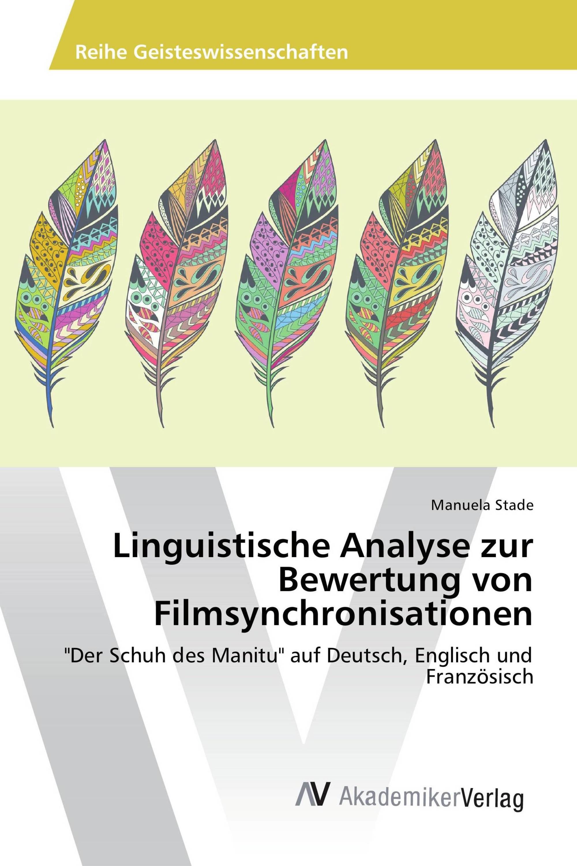 Linguistische Analyse Zur Bewertung Von Filmsynchronisationen 978