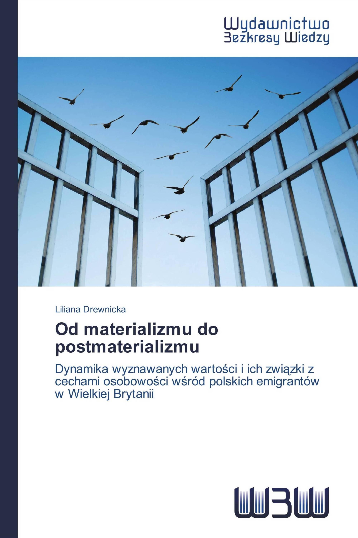 Od materializmu do postmaterializmu