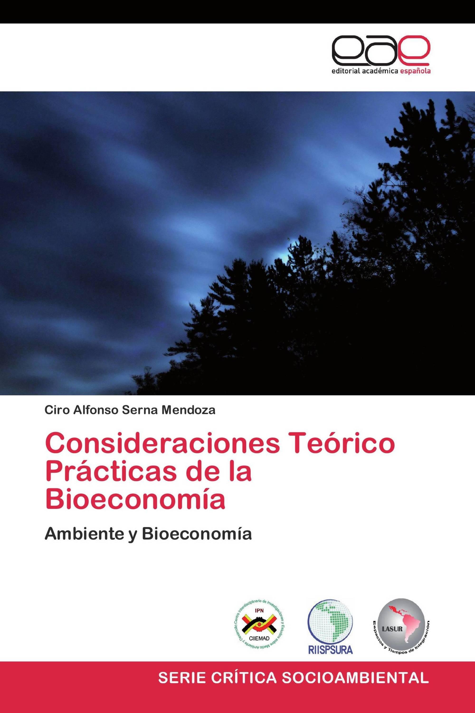 Consideraciones Teórico Prácticas de la Bioeconomía