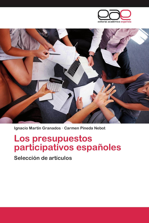 Los presupuestos participativos españoles