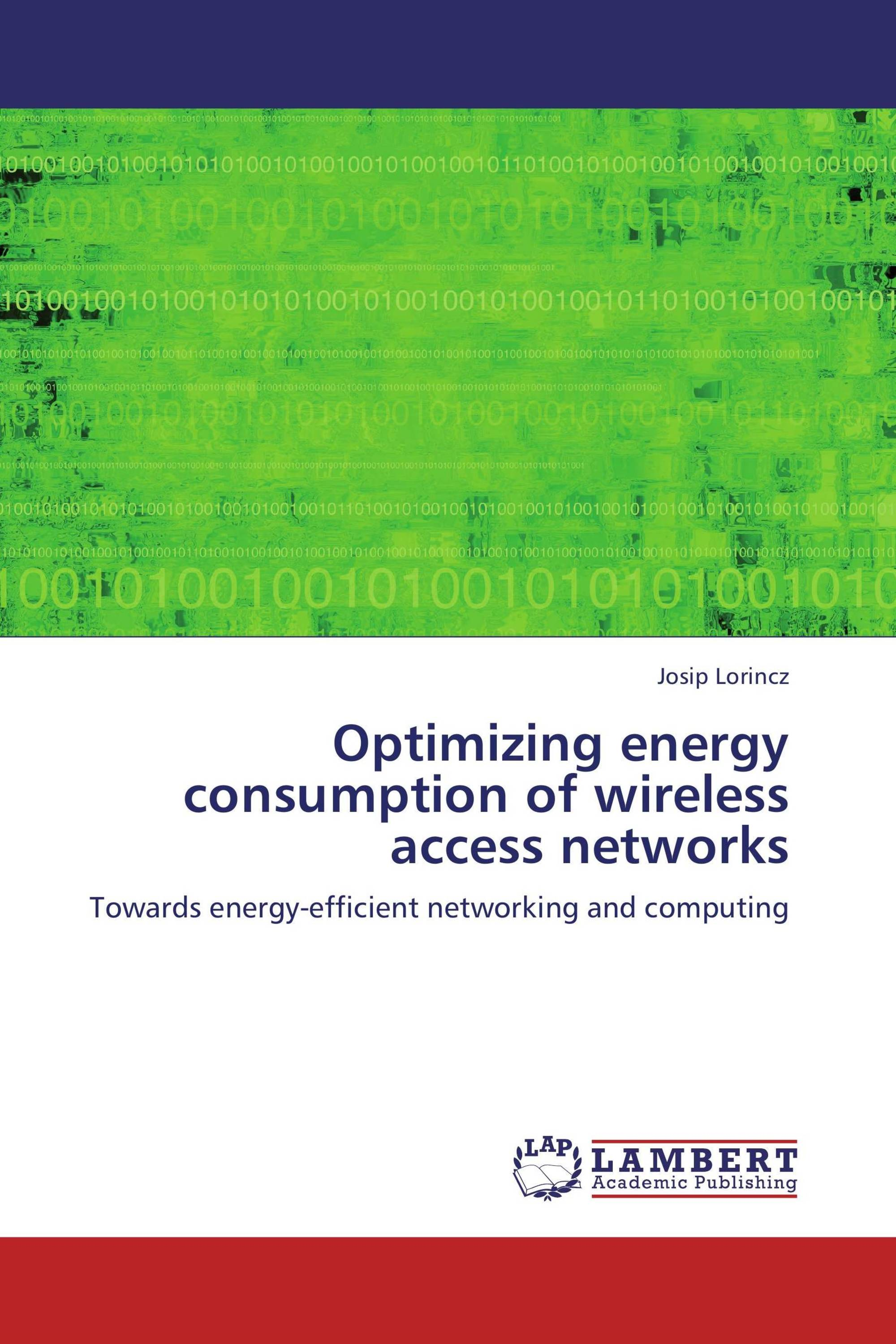 Optimizing energy consumption of wireless access networks