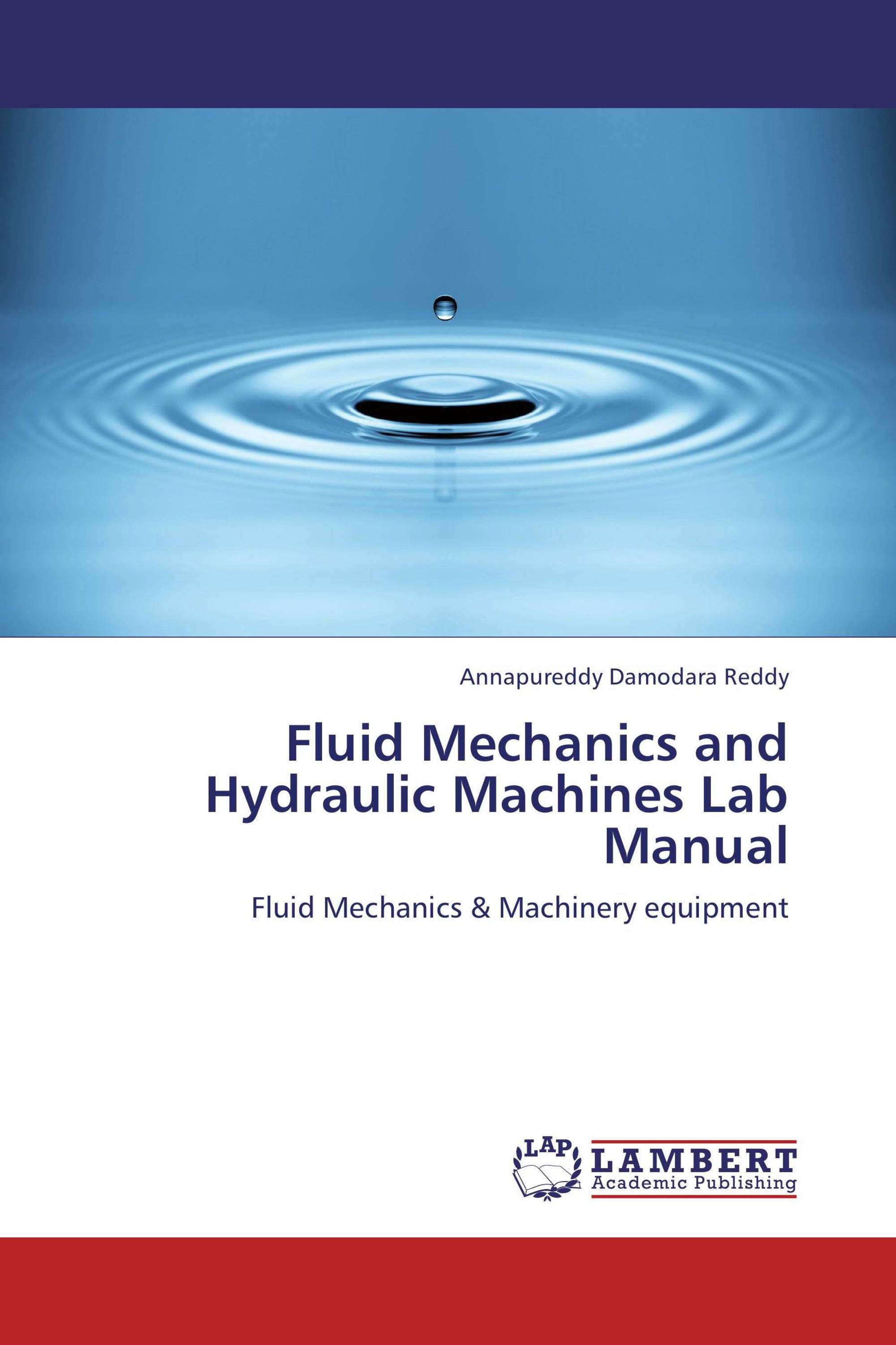 It's time to publish your thesis. Publish now · Back · Fluid Mechanics and  Hydraulic Machines Lab Manual
