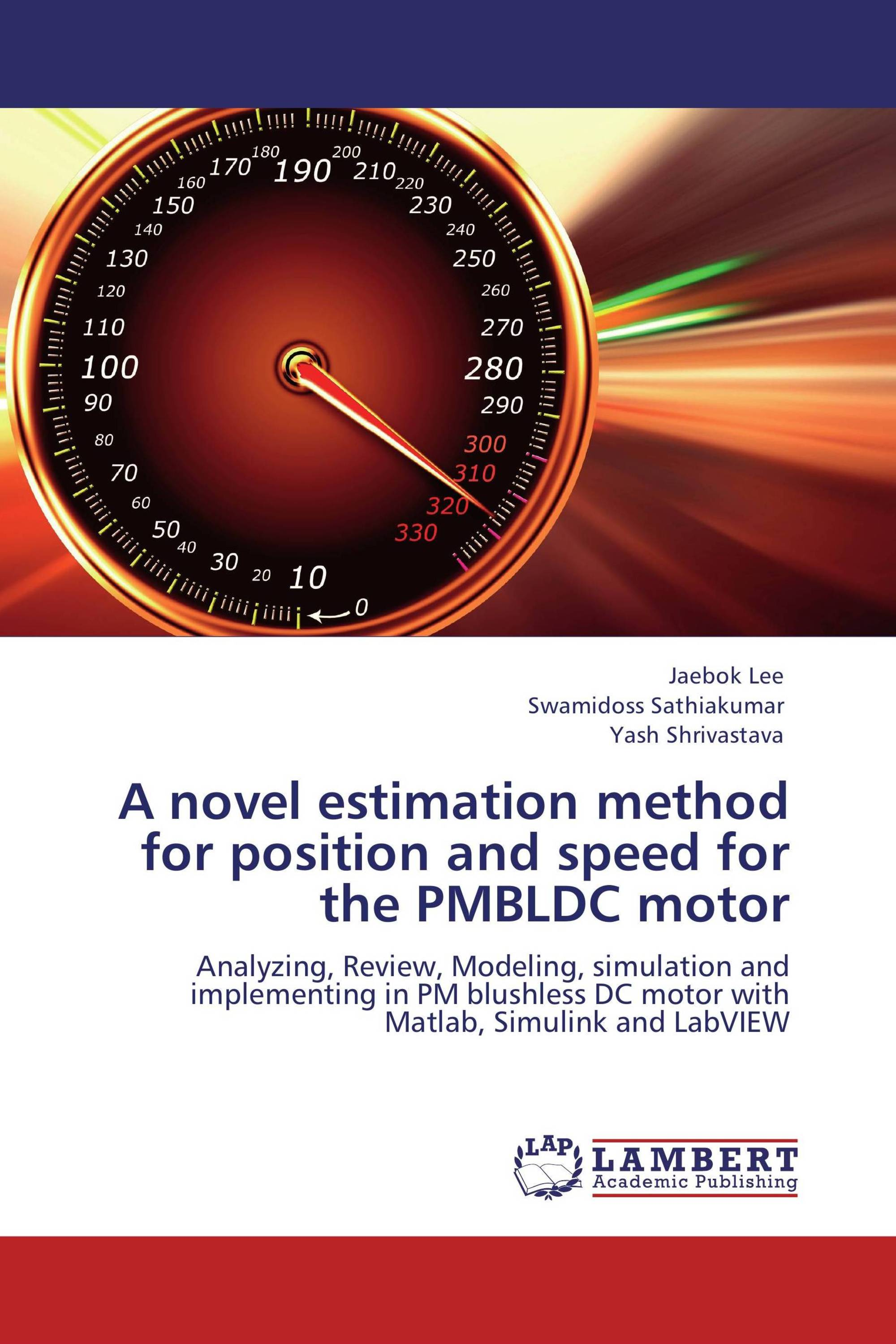 A novel estimation method for position and speed for the PMBLDC motor
