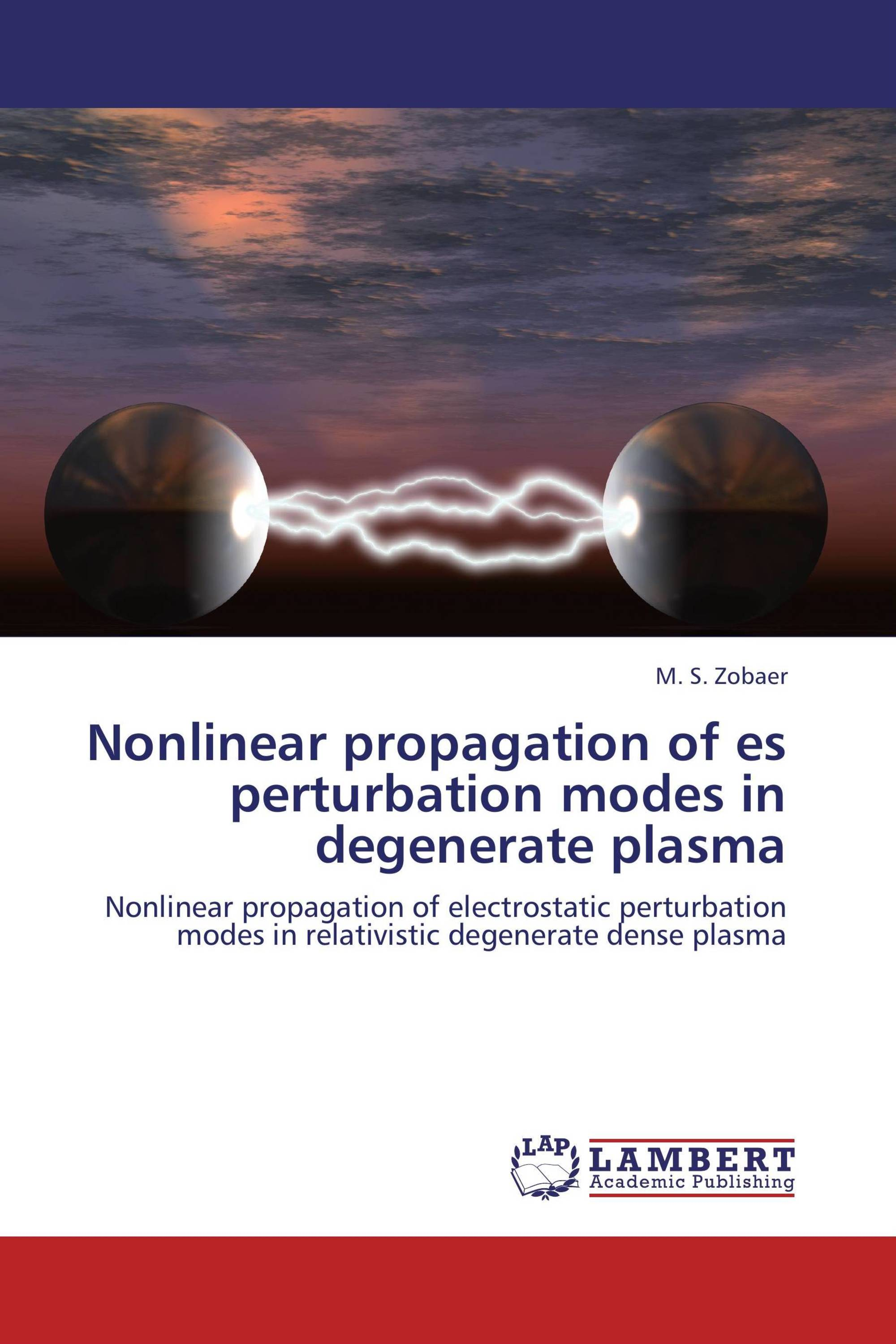 Nonlinear propagation of es perturbation modes in degenerate plasma