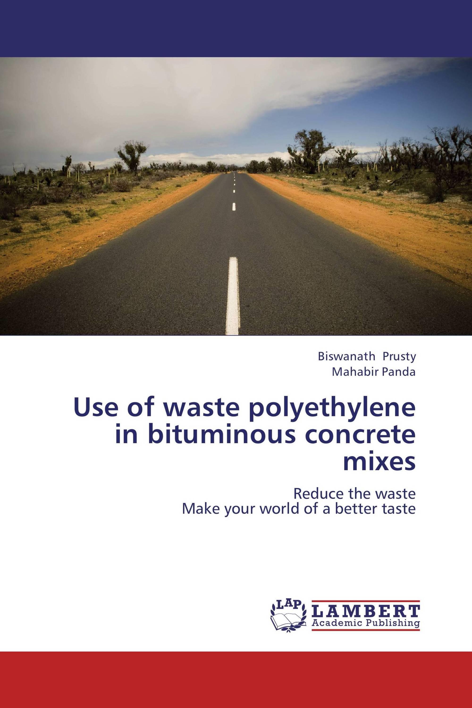 Use of waste polyethylene in bituminous concrete mixes / 978