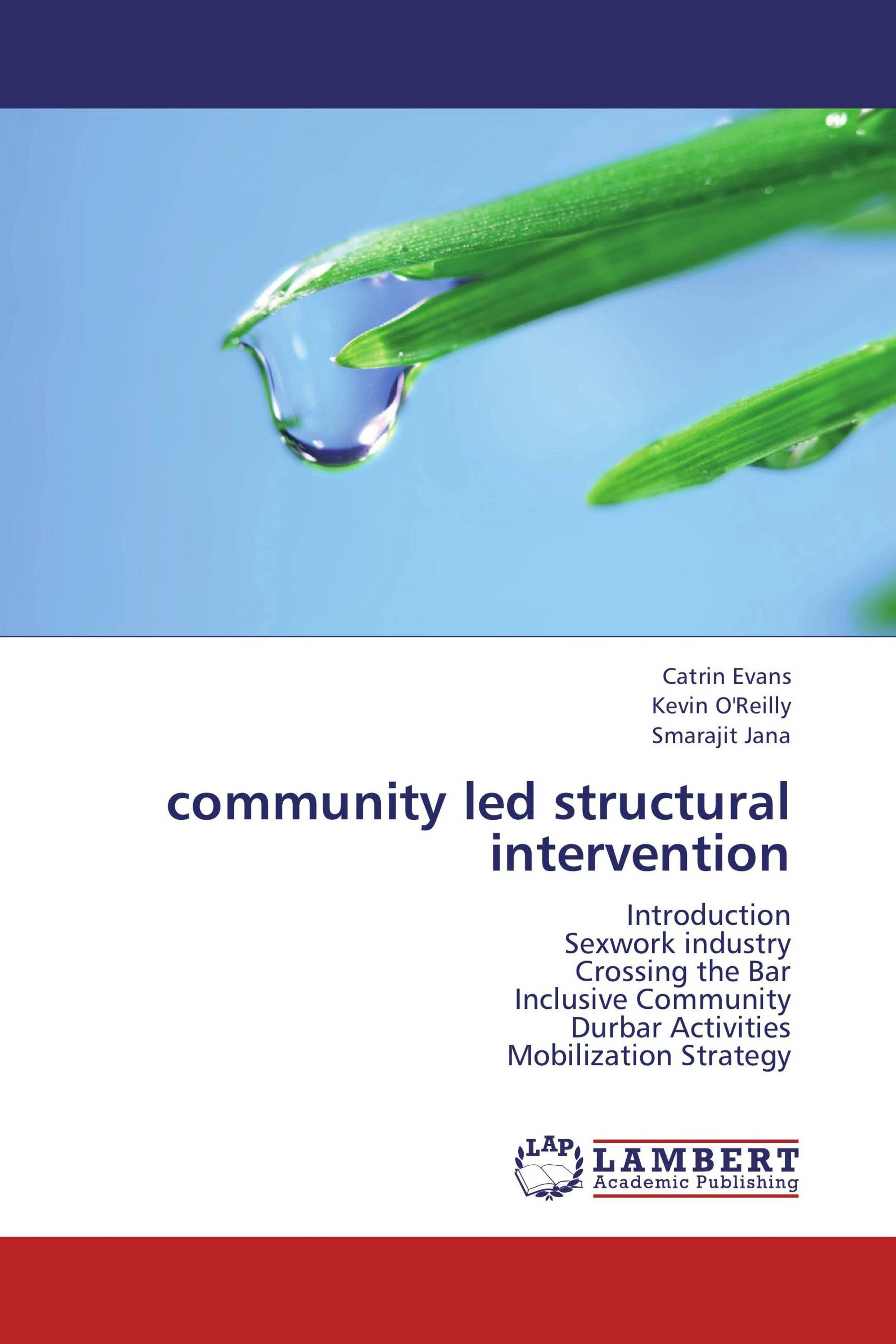 community led structural intervention