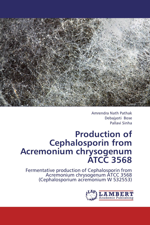 Production of Cephalosporin from Acremonium chrysogenum ATCC 3568