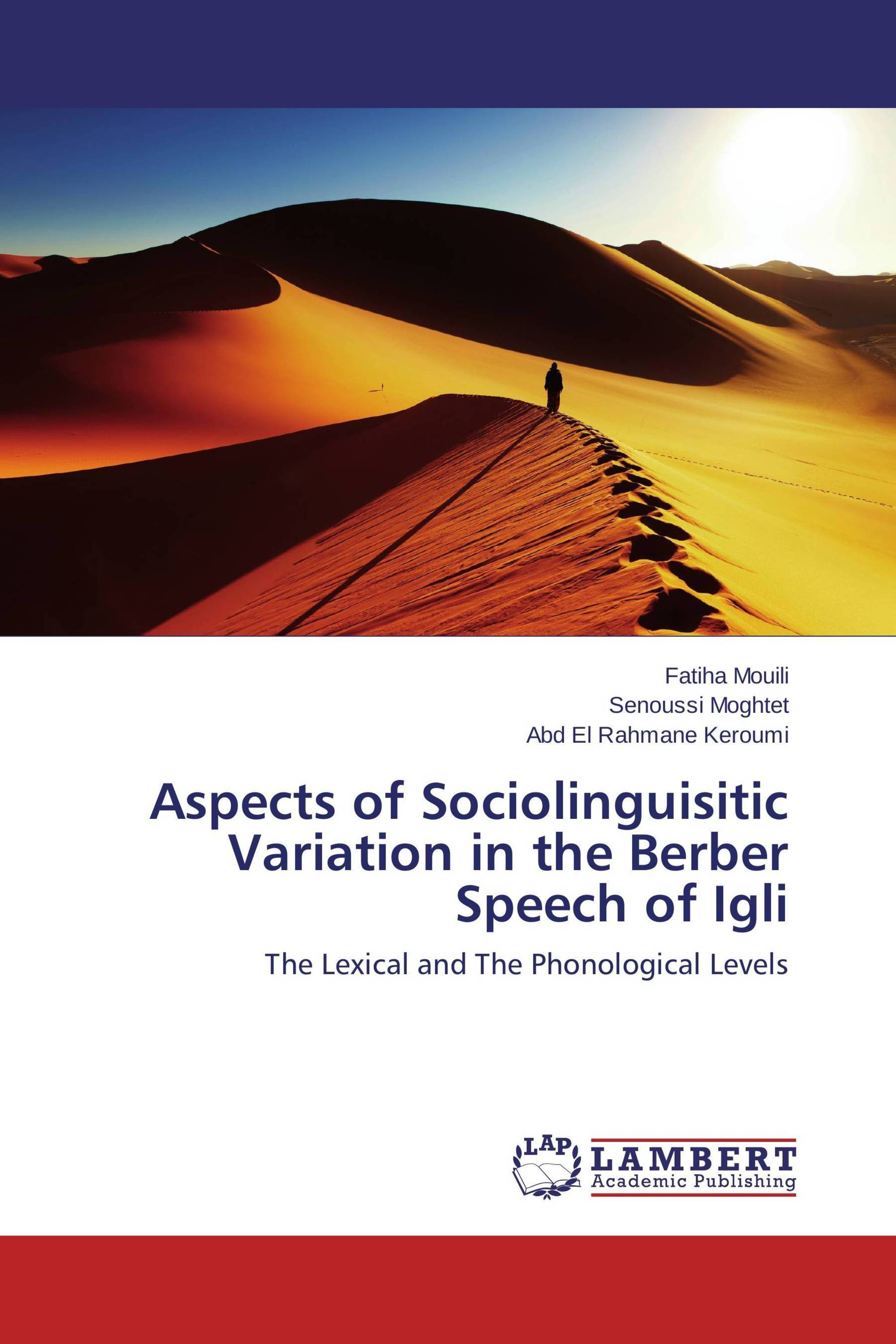 Aspects of Sociolinguisitic Variation in the Berber Speech of Igli