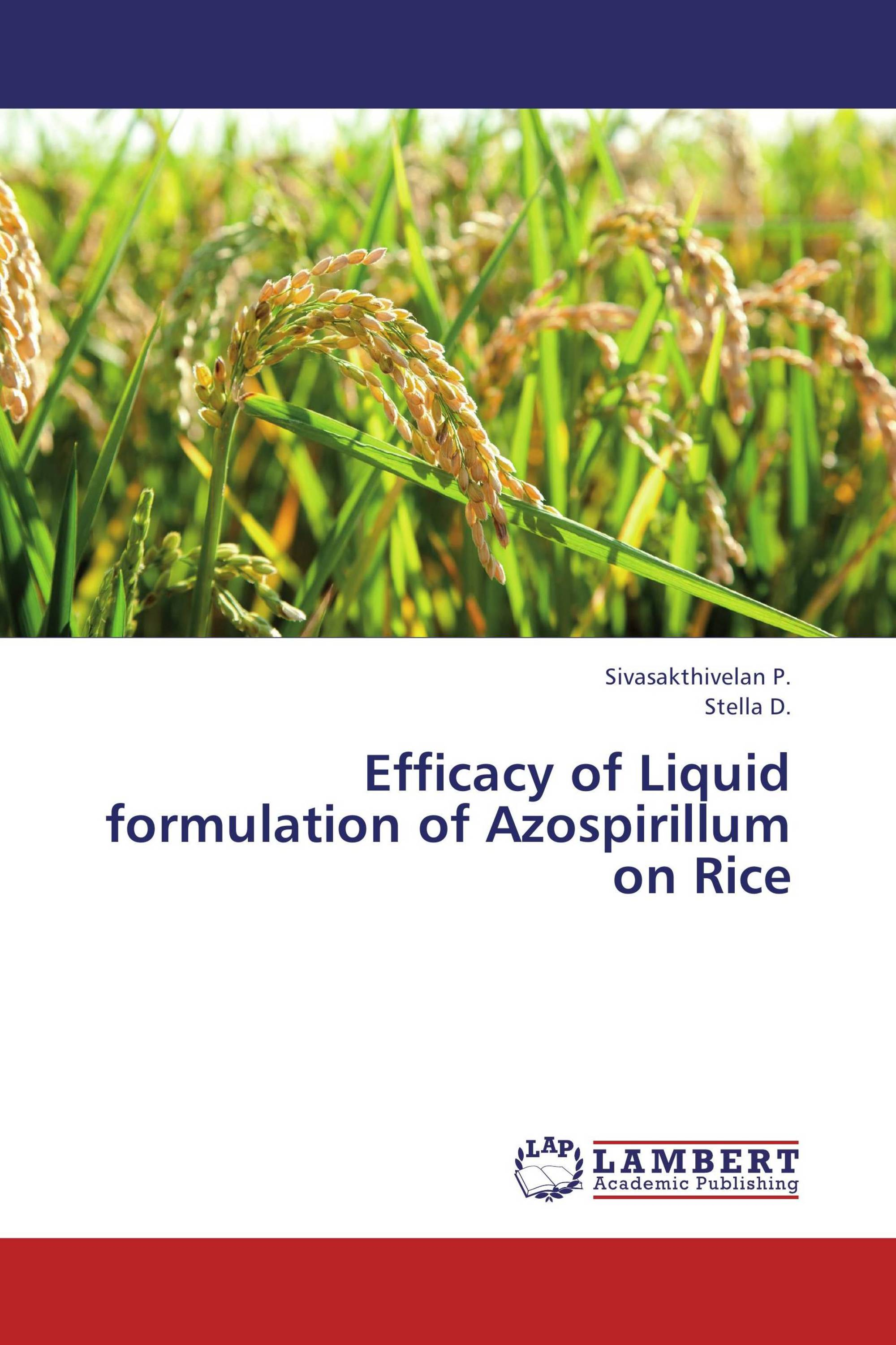 Efficacy of Liquid formulation of Azospirillum on Rice