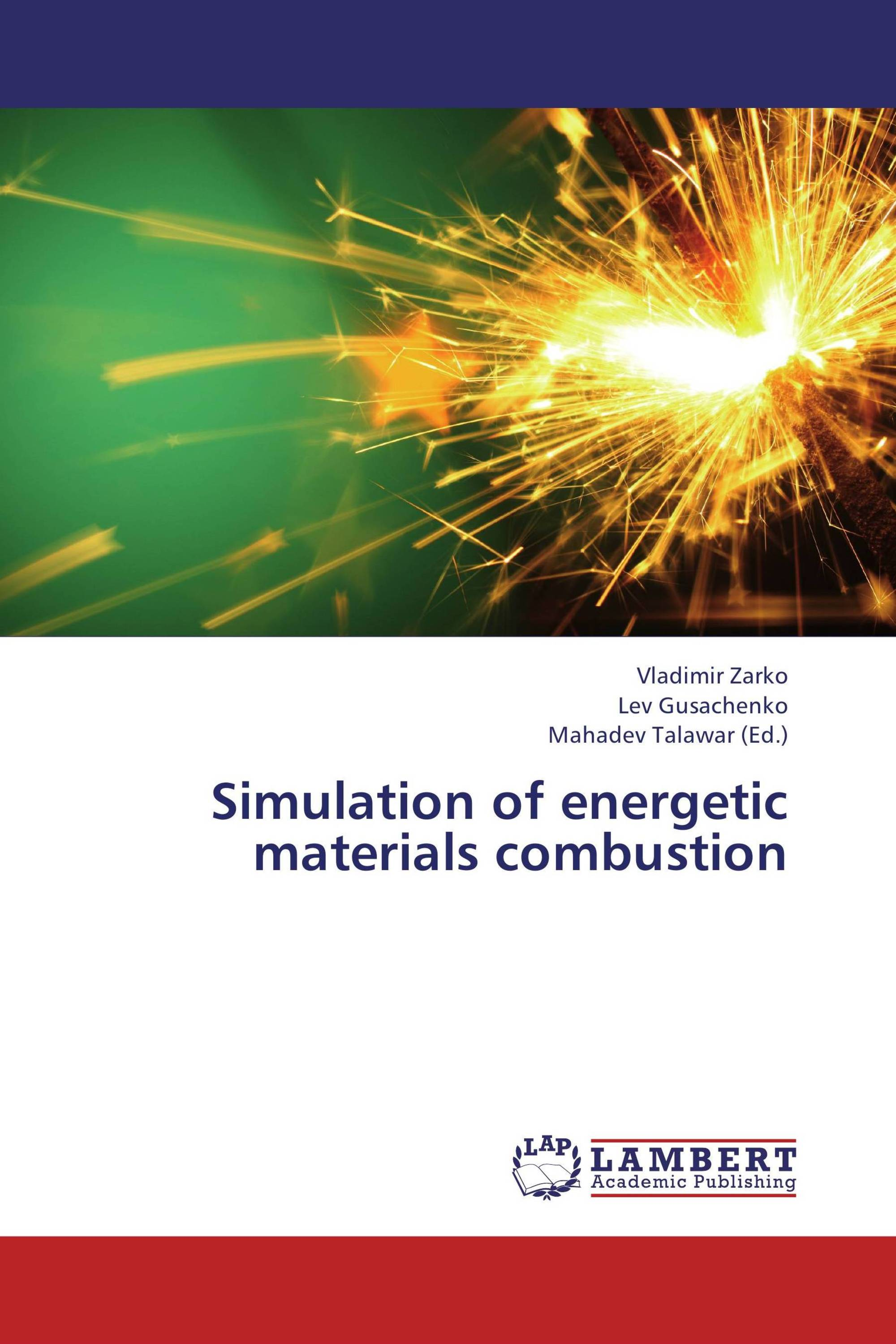 Simulation of energetic materials combustion