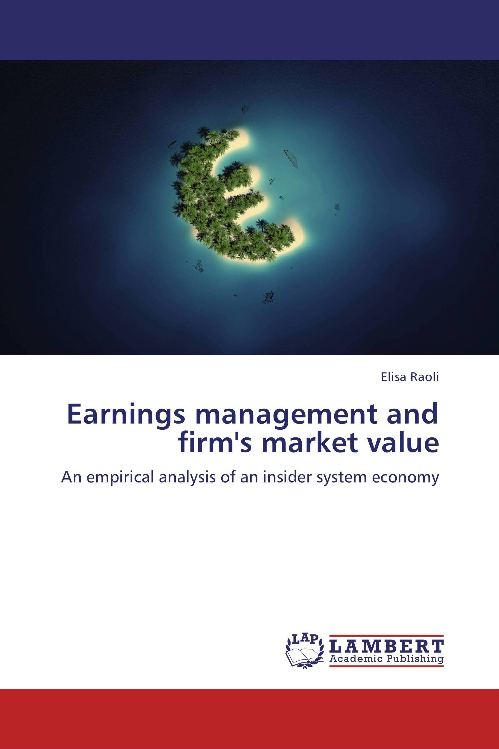 earnings managements By definition, earnings management is strategies used by the management of a company to deliberately manipulate the company's earnings so that the.