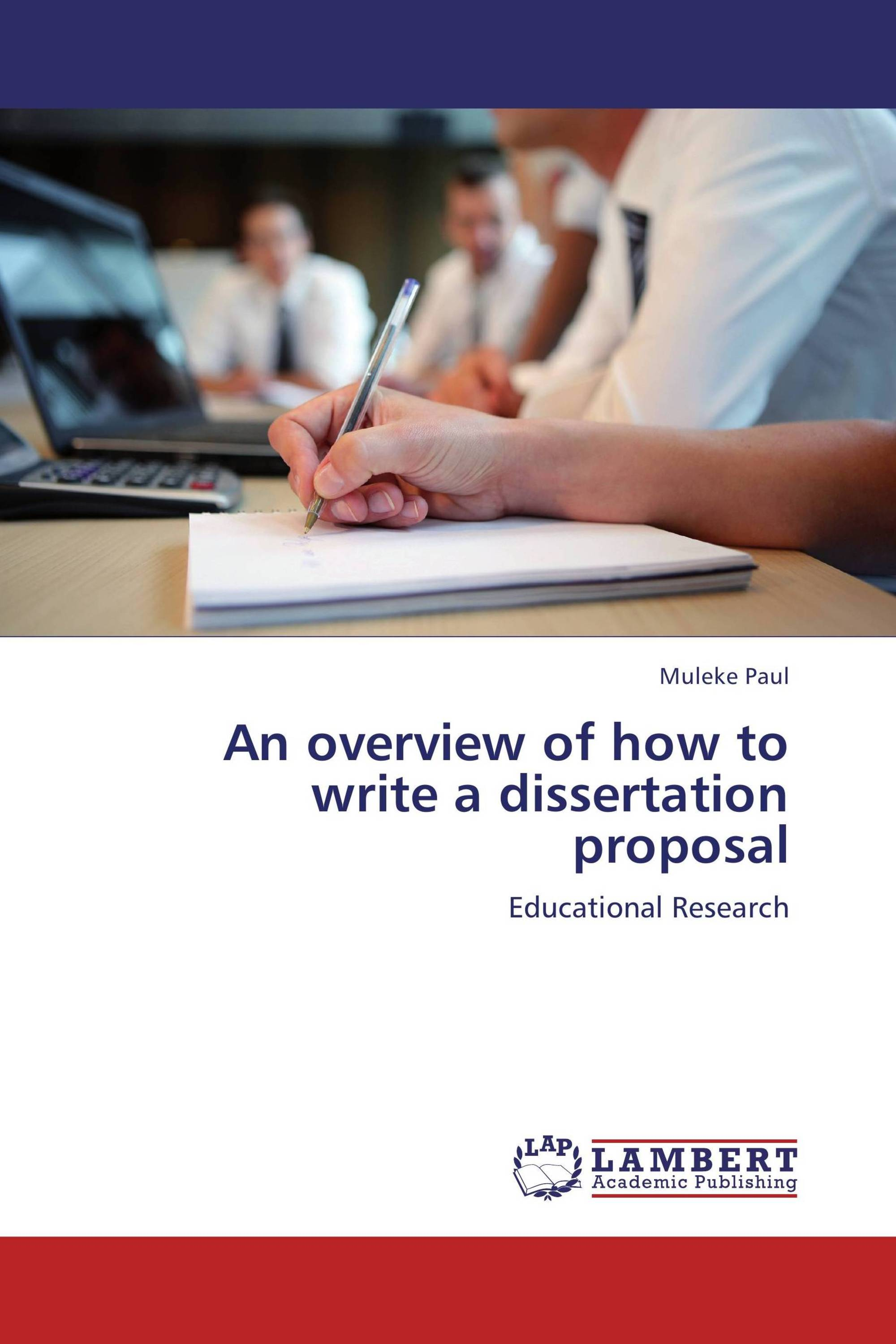 education dissertation proposal