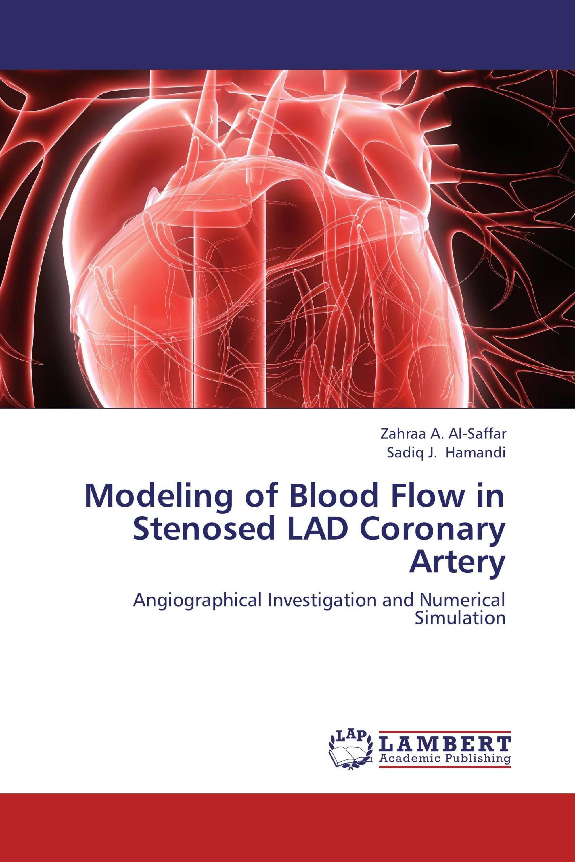 Modeling of Blood Flow in Stenosed LAD Coronary Artery