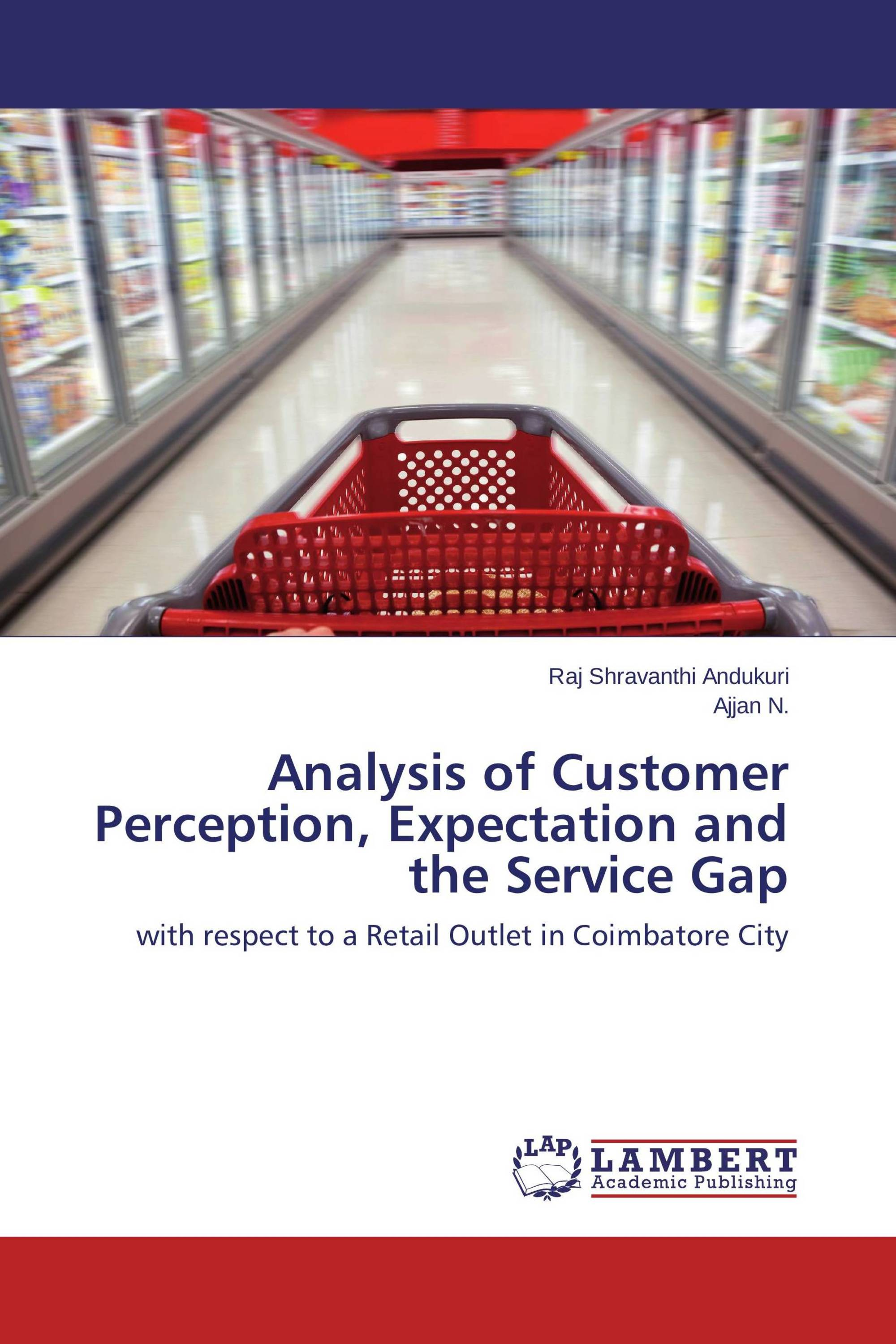 customer perception thesis Analysis of customer perception and expectation and the retail service gap at a hypermarket in coimbatore city.