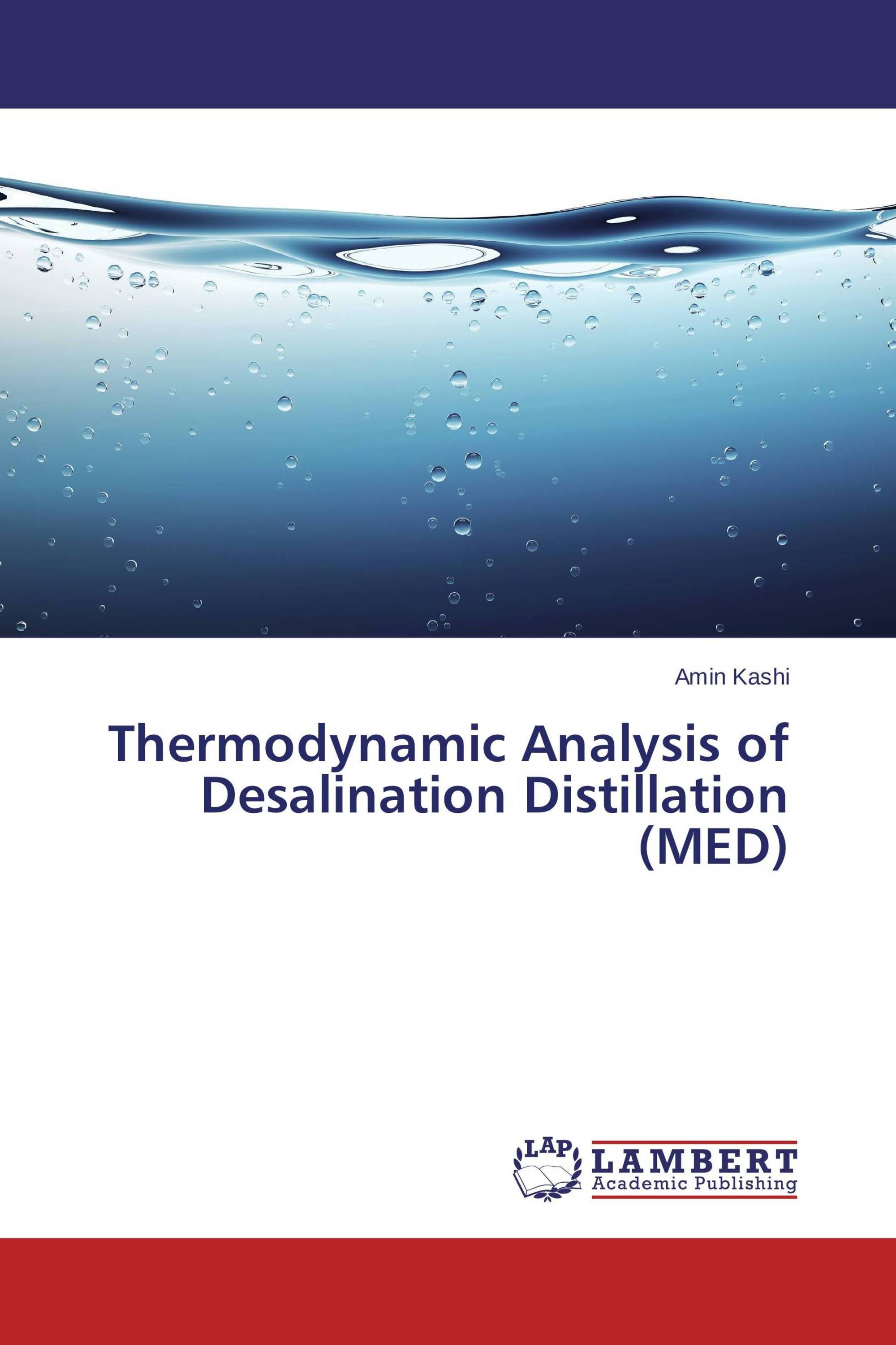 Thermodynamic Analysis of Desalination Distillation MED 978 3