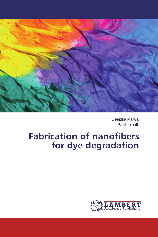 Fabrication of nanofibers for dye degradation