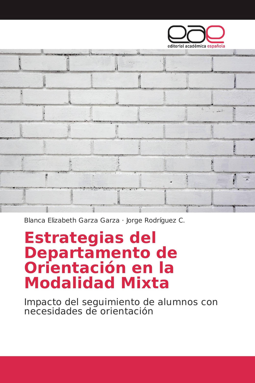 Estrategias del Departamento de Orientación en la Modalidad Mixta