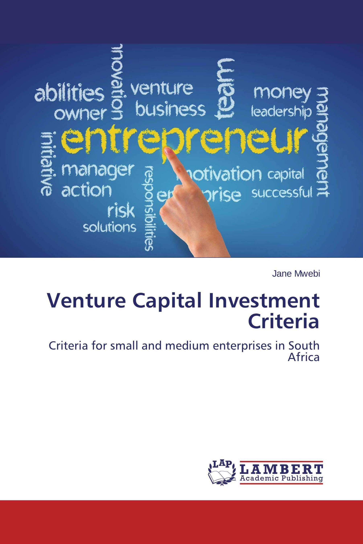 thesis on venture capital Master thesis corporate venture capital portfolio management a case study at dsm venturing public version student tobias lanhenke student-no: s0186996.
