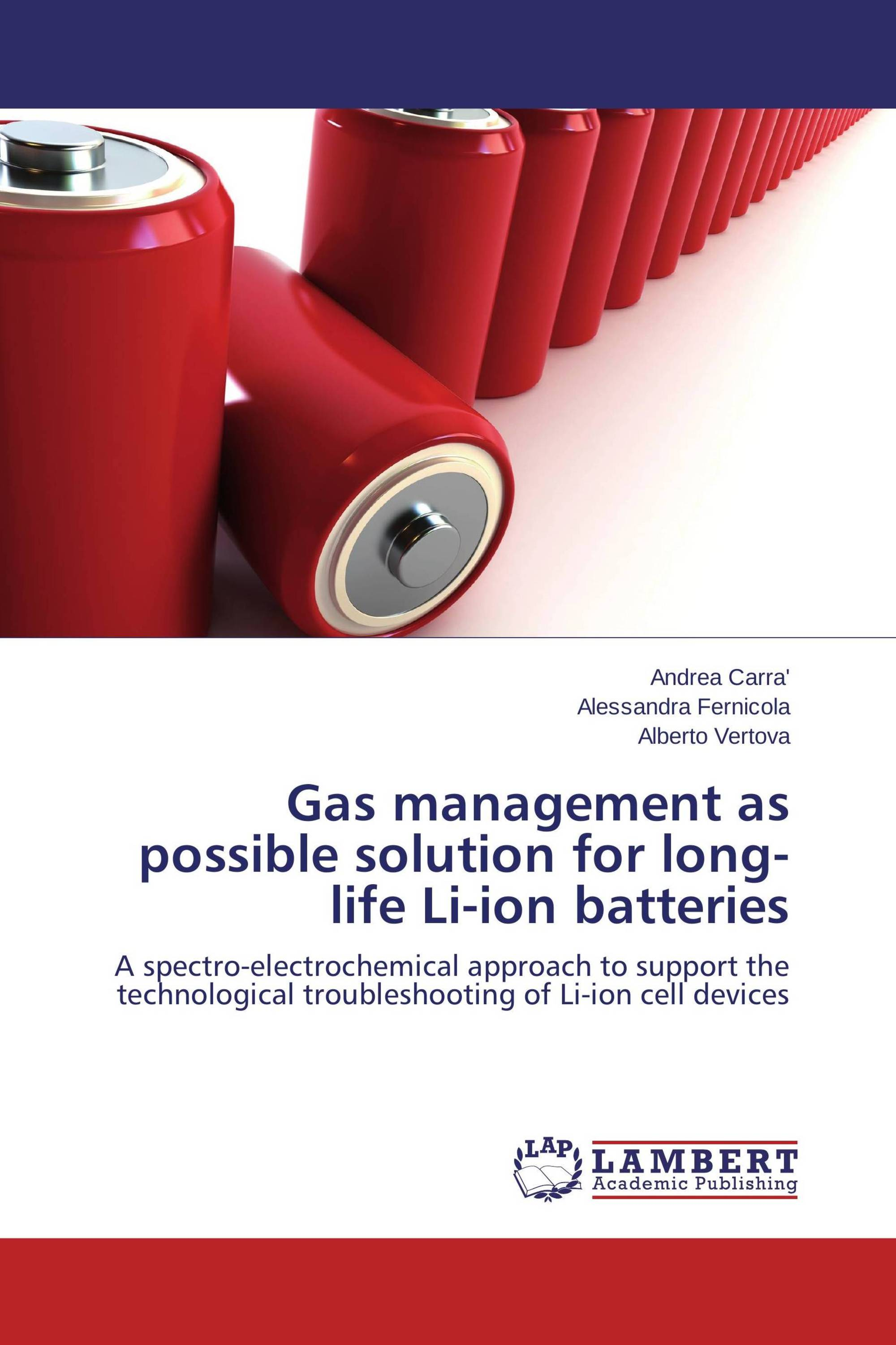 Gas management as possible solution for long-life Li-ion batteries