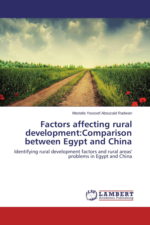 Factors affecting rural development:Comparison between Egypt