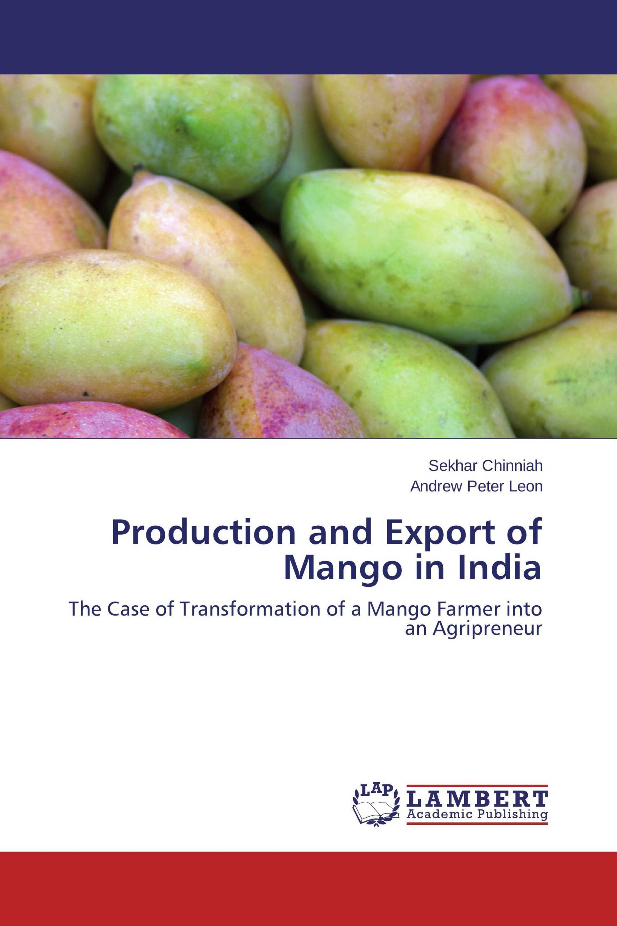 Production and Export of Mango in India / 978-3-659-78105-6