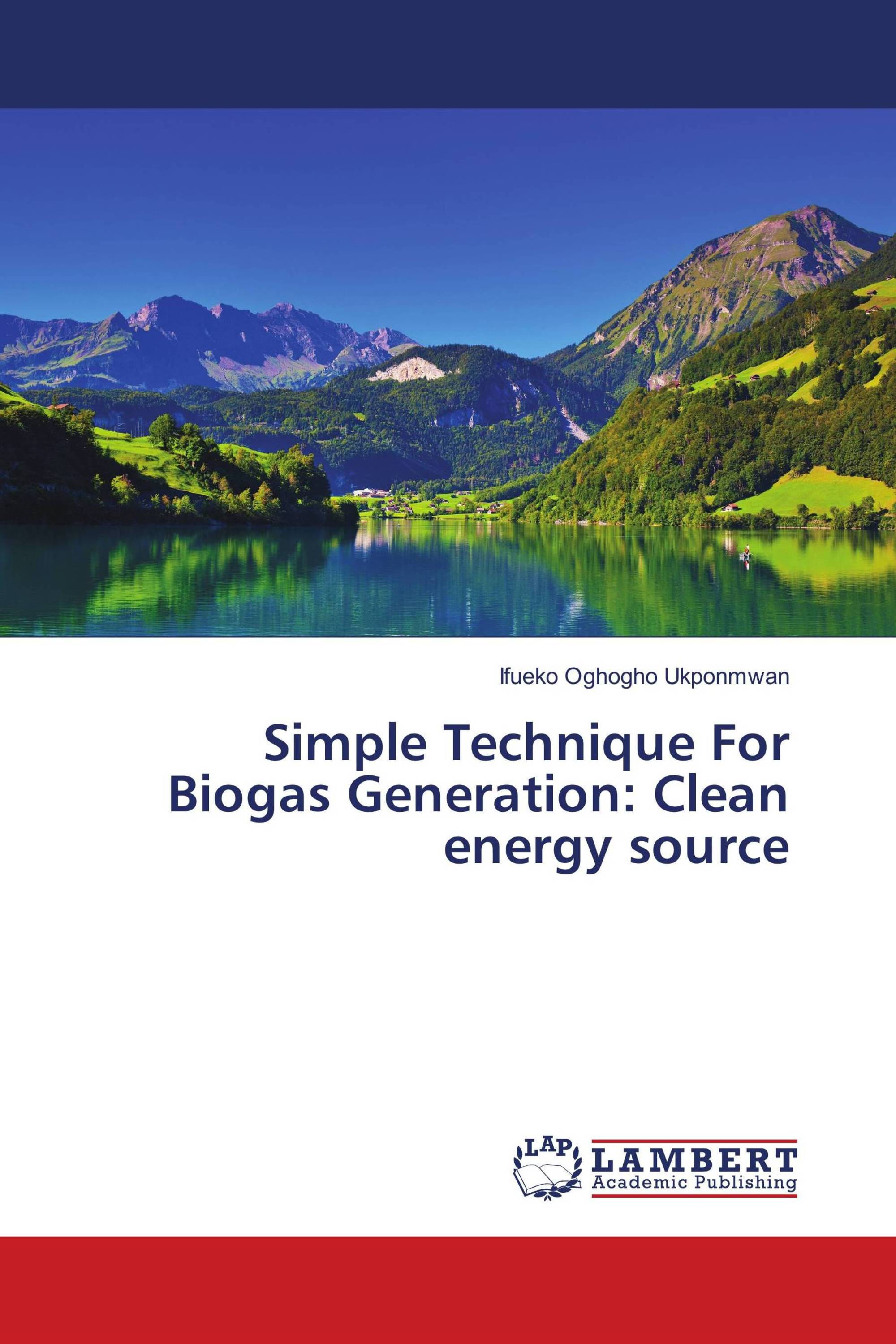 Simple Technique For Biogas Generation: Clean energy source