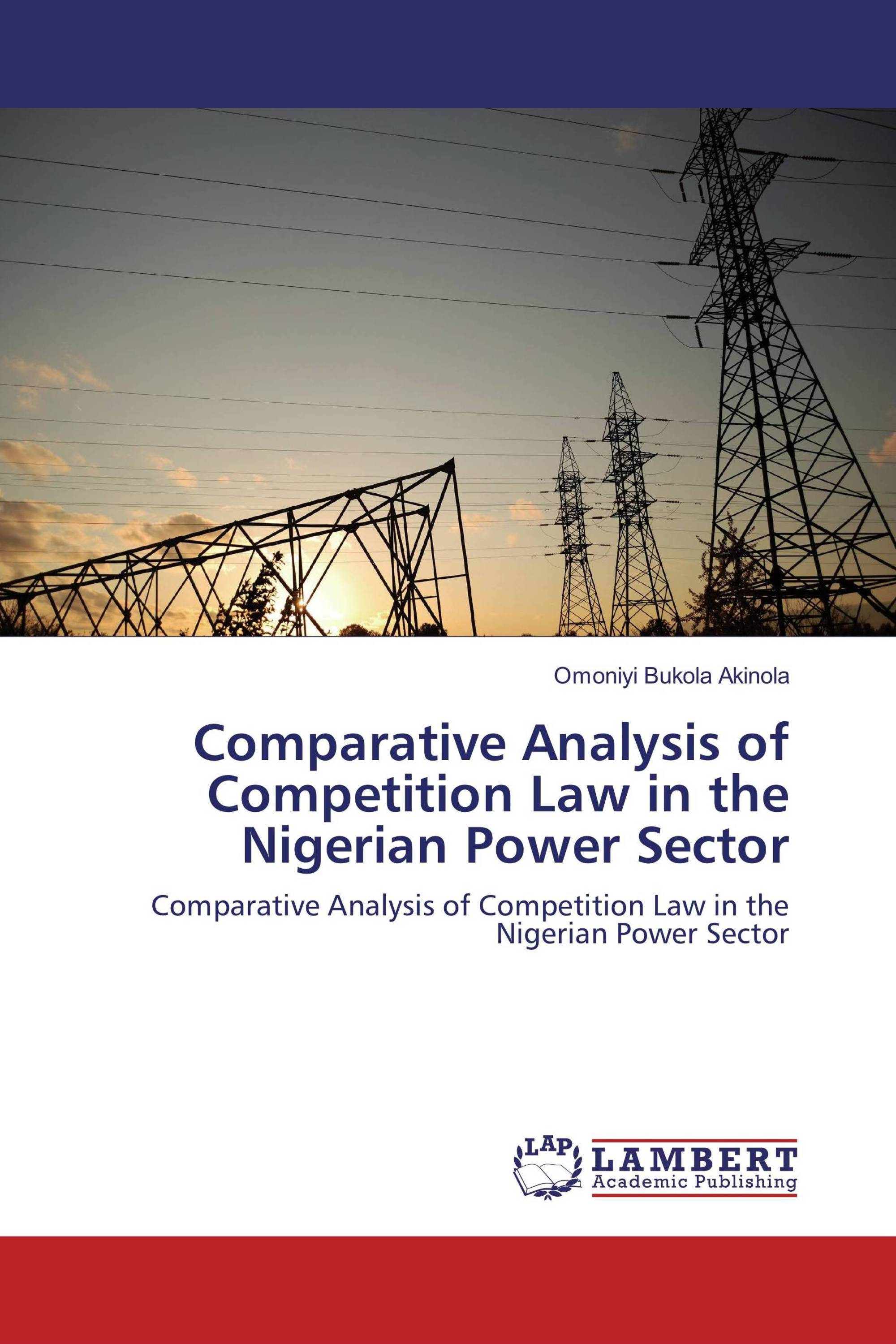 competition law in nigeria Jorind 11(1), june, 2013 issn 1596-8308 wwwtranscampusorg/journals wwwajolinfo/journals/jorind price mechanism, competition and consumer protection law in nigeria.
