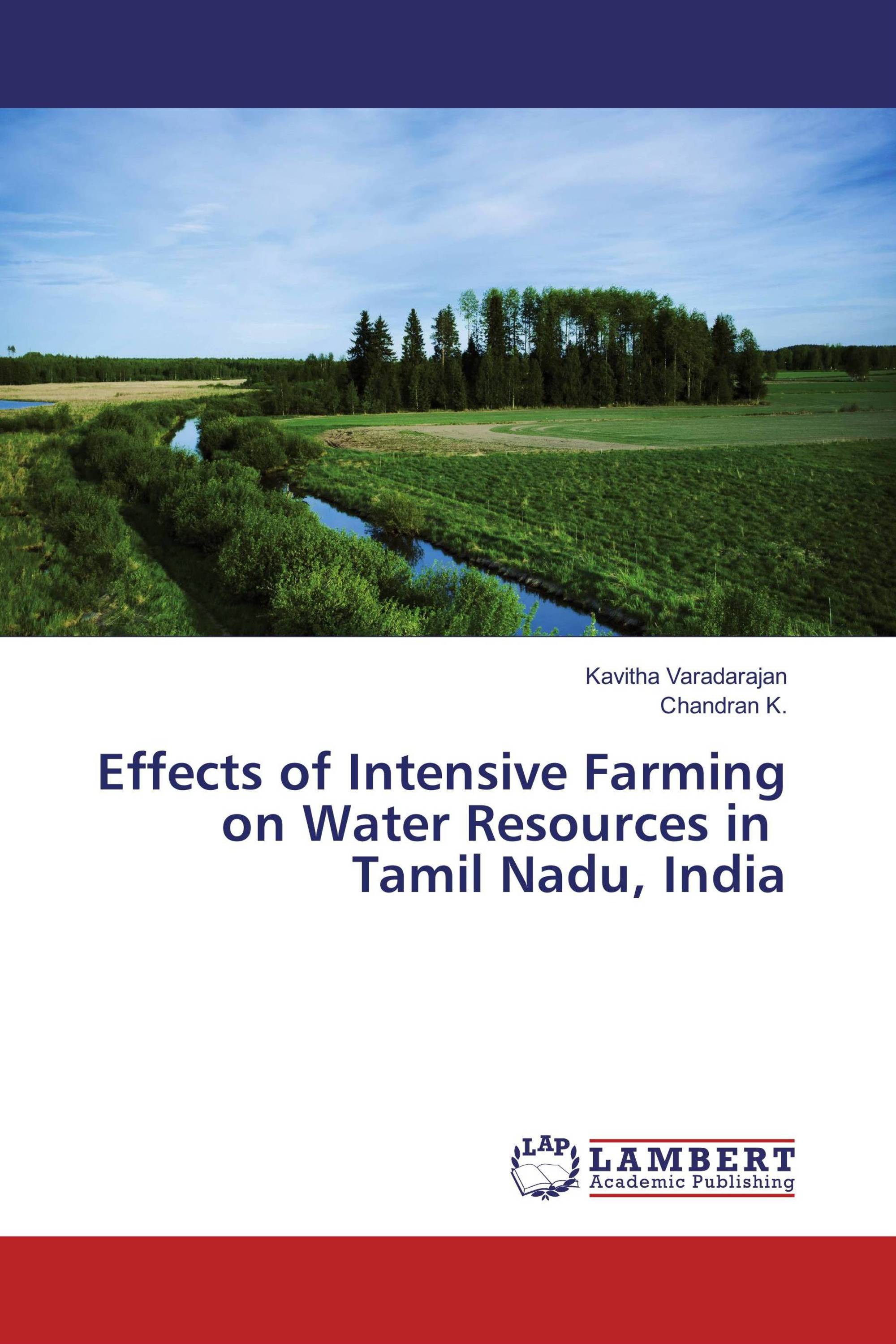 Effects of Intensive Farming on Water Resources in Tamil