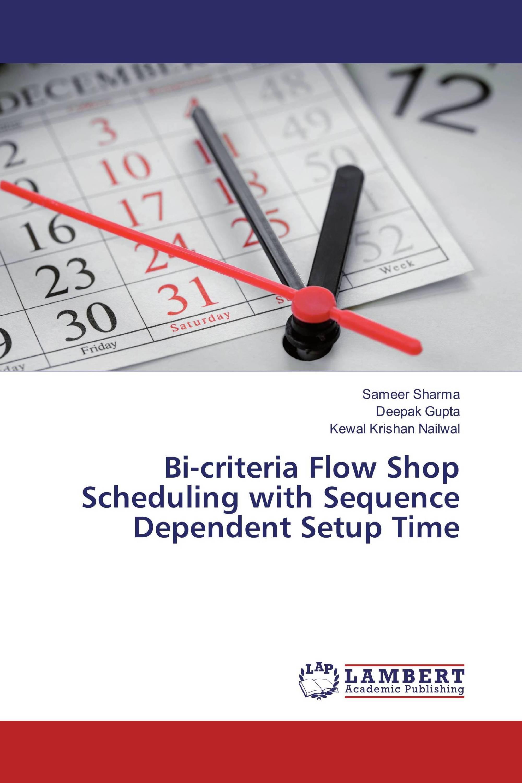 thesis flow shop