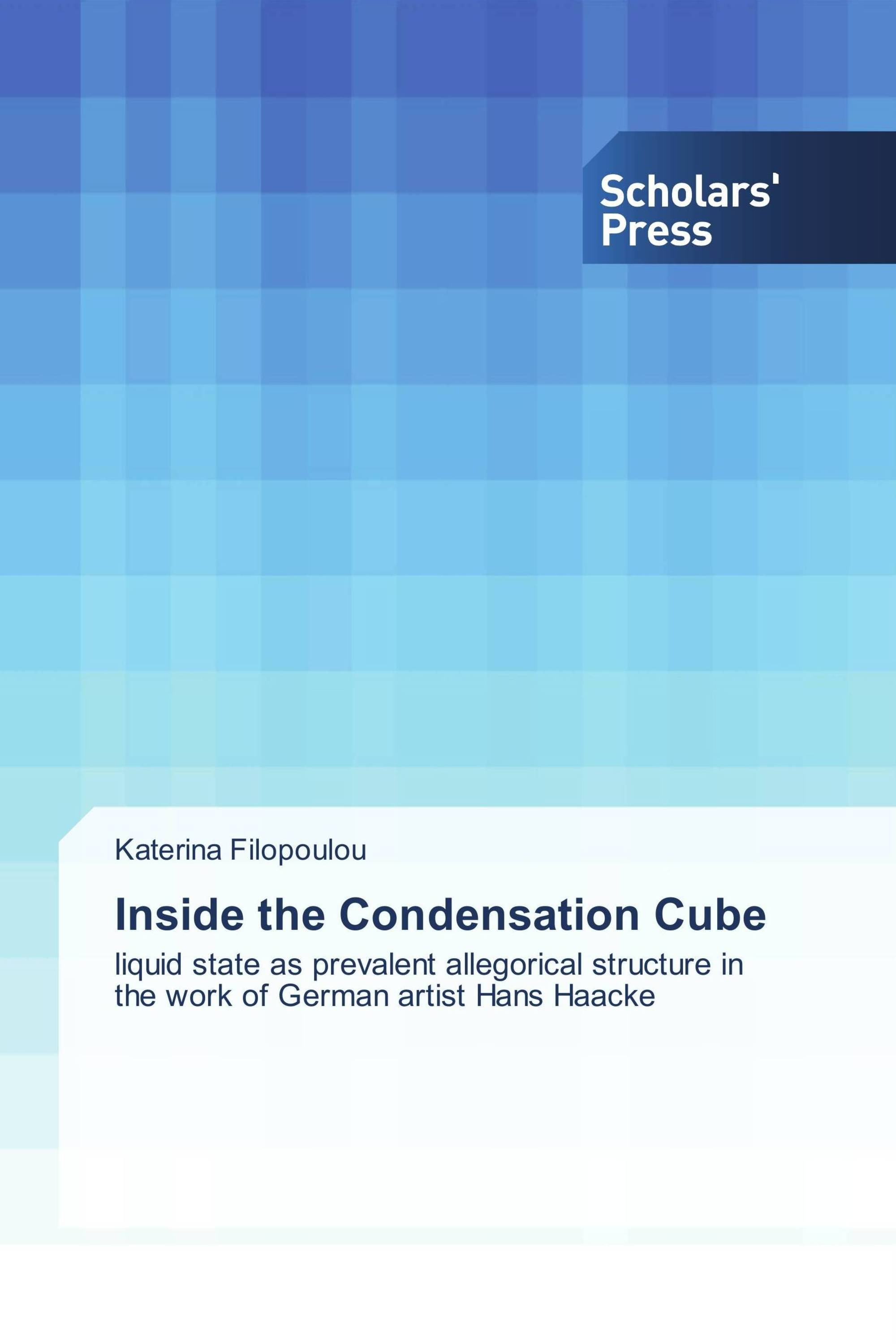 inside the condensation cube liquid state as prevalent allegorical structure in the work of german artist hans haacke