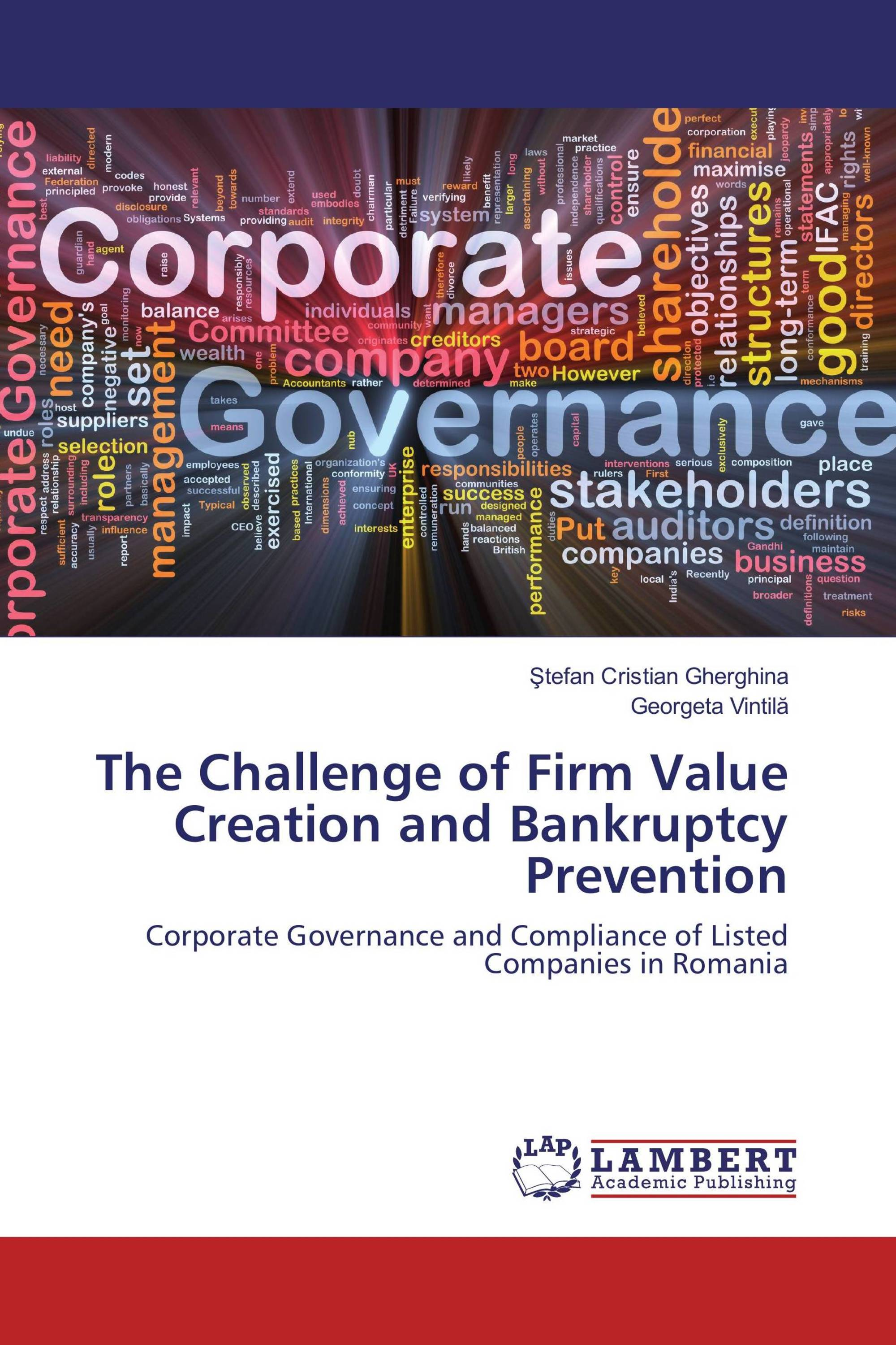 The Challenge of Firm Value Creation and Bankruptcy Prevention