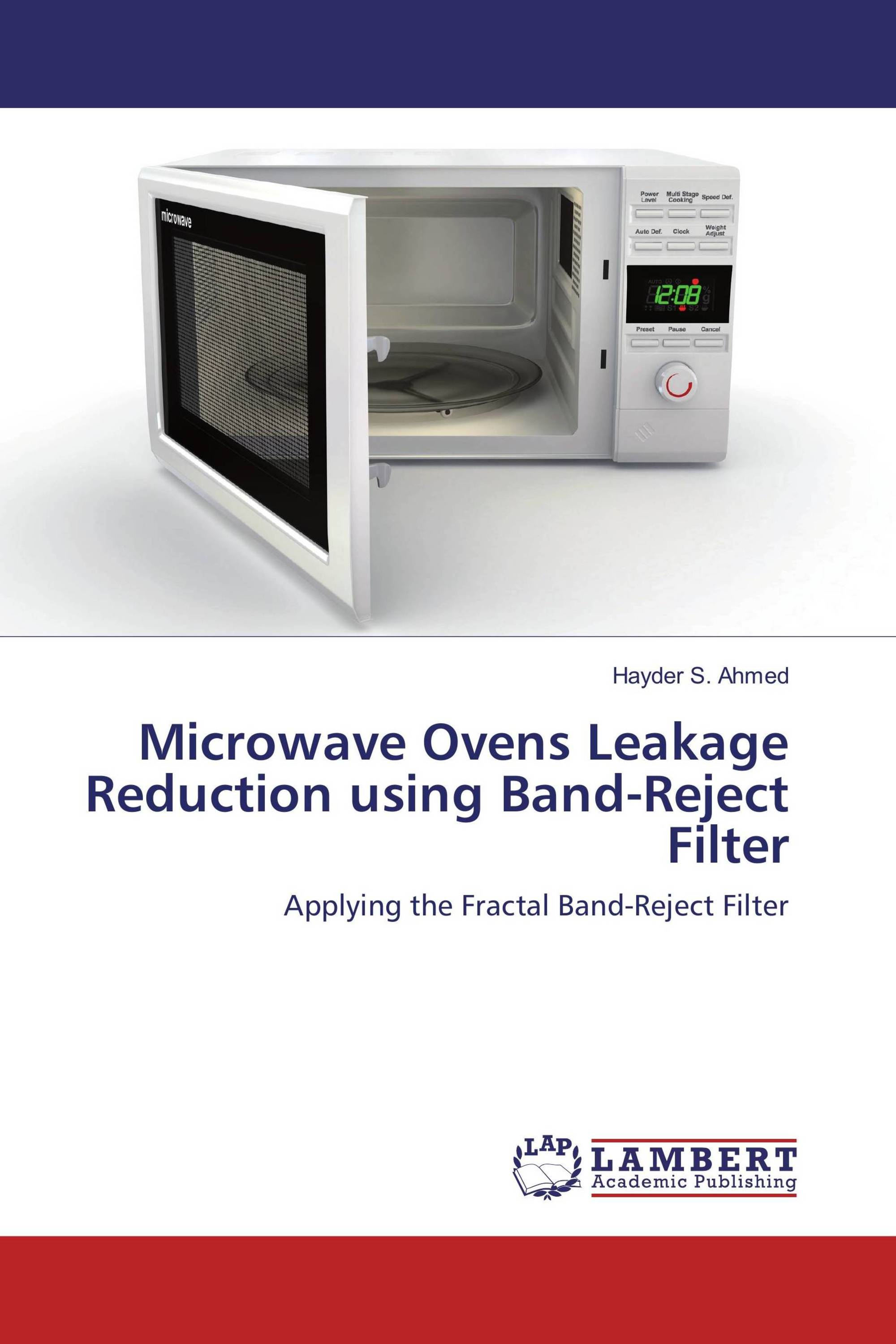 Microwave Ovens Leakage Reduction Using Band Reject Filter