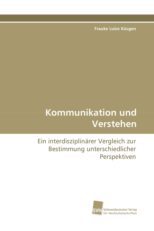 Kommunikation und Verstehen