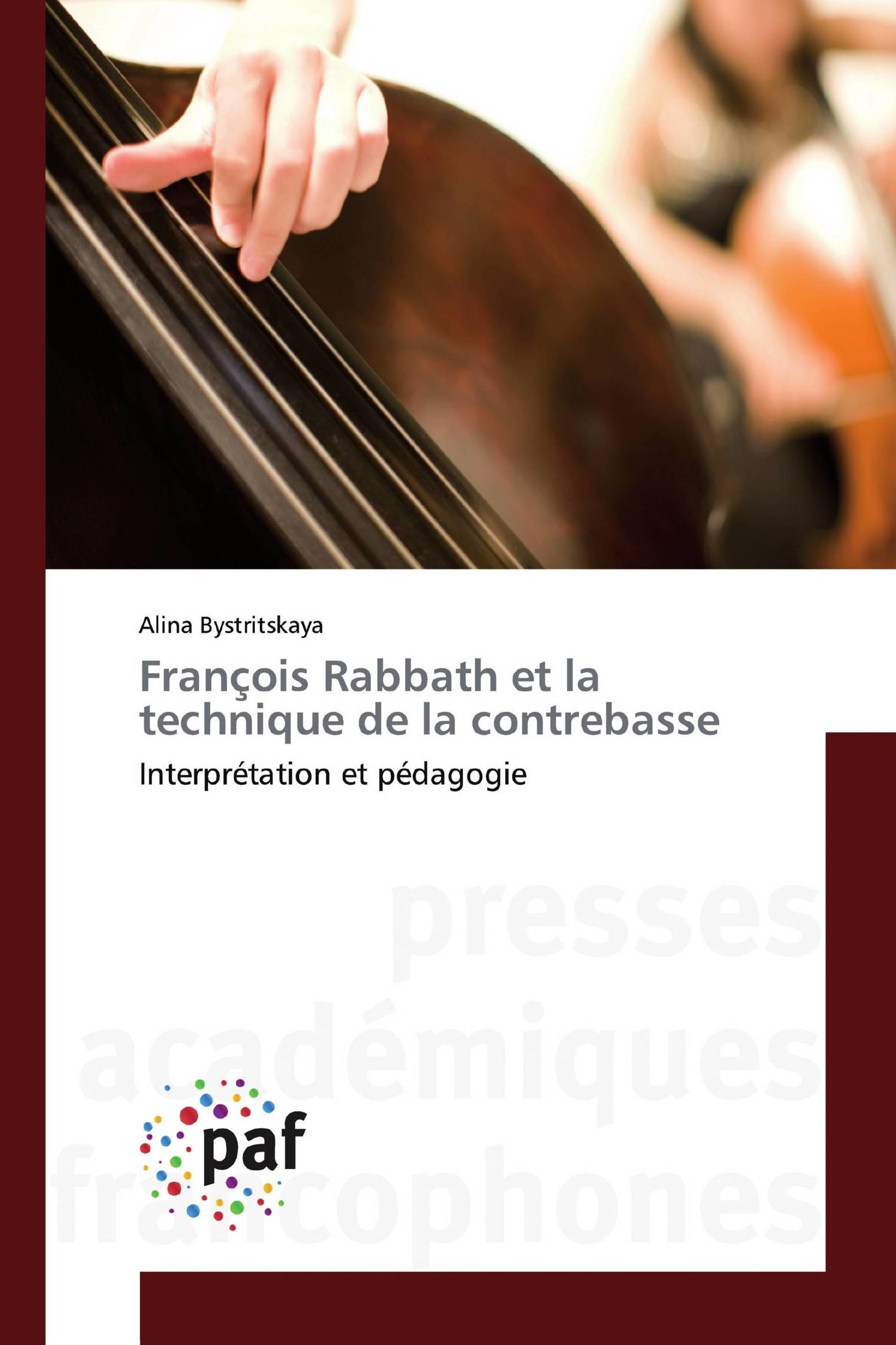François Rabbath et la technique de la contrebasse